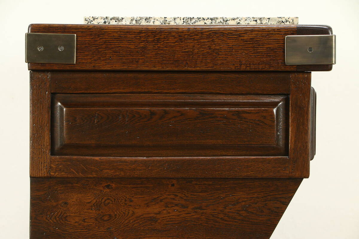 French Oak Vintage Wine Amp Cheese Server Counter Kitchen