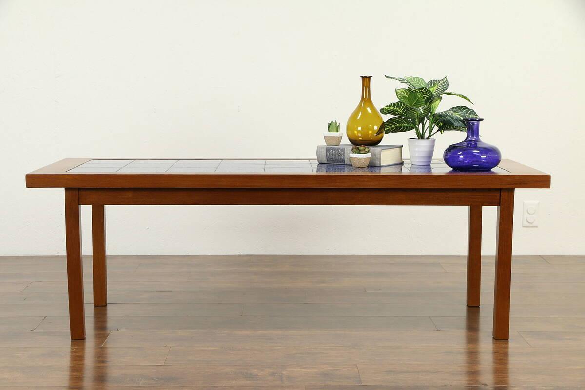 Midcentury Modern 1960 Vintage Danish Teak Coffee Table ...