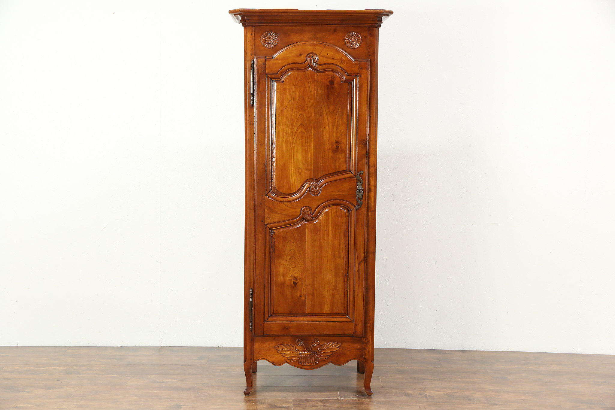 Sold country french 1800 antique small fruitwood armoire for 1800 closets