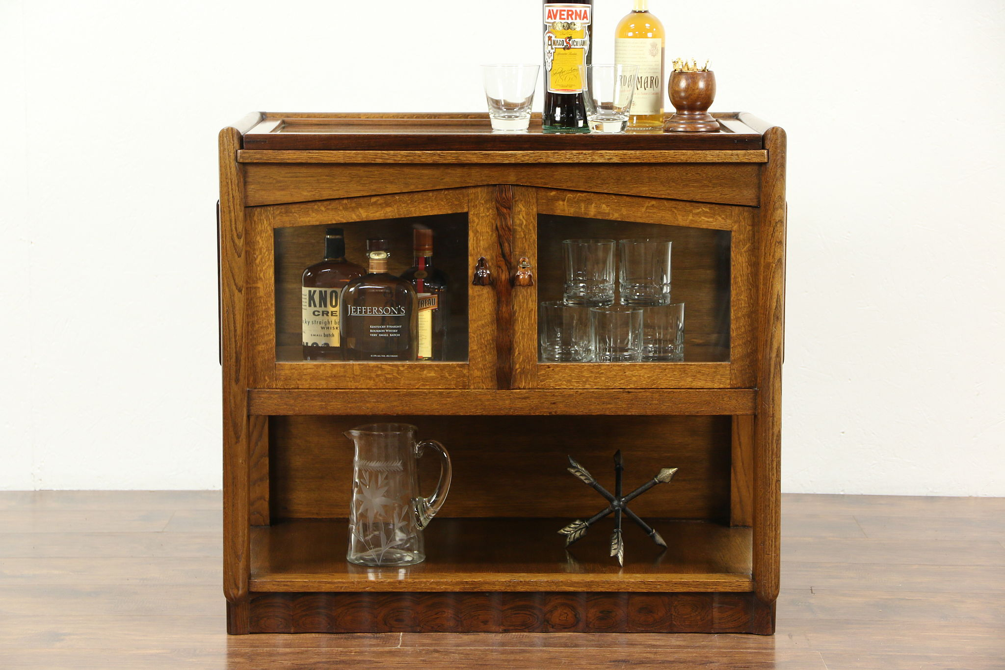 Sold Bar Cabinets Beverage Carts Bars Harp Gallery Antiques & Vintage Bar Cabinets - Creepingthyme.info