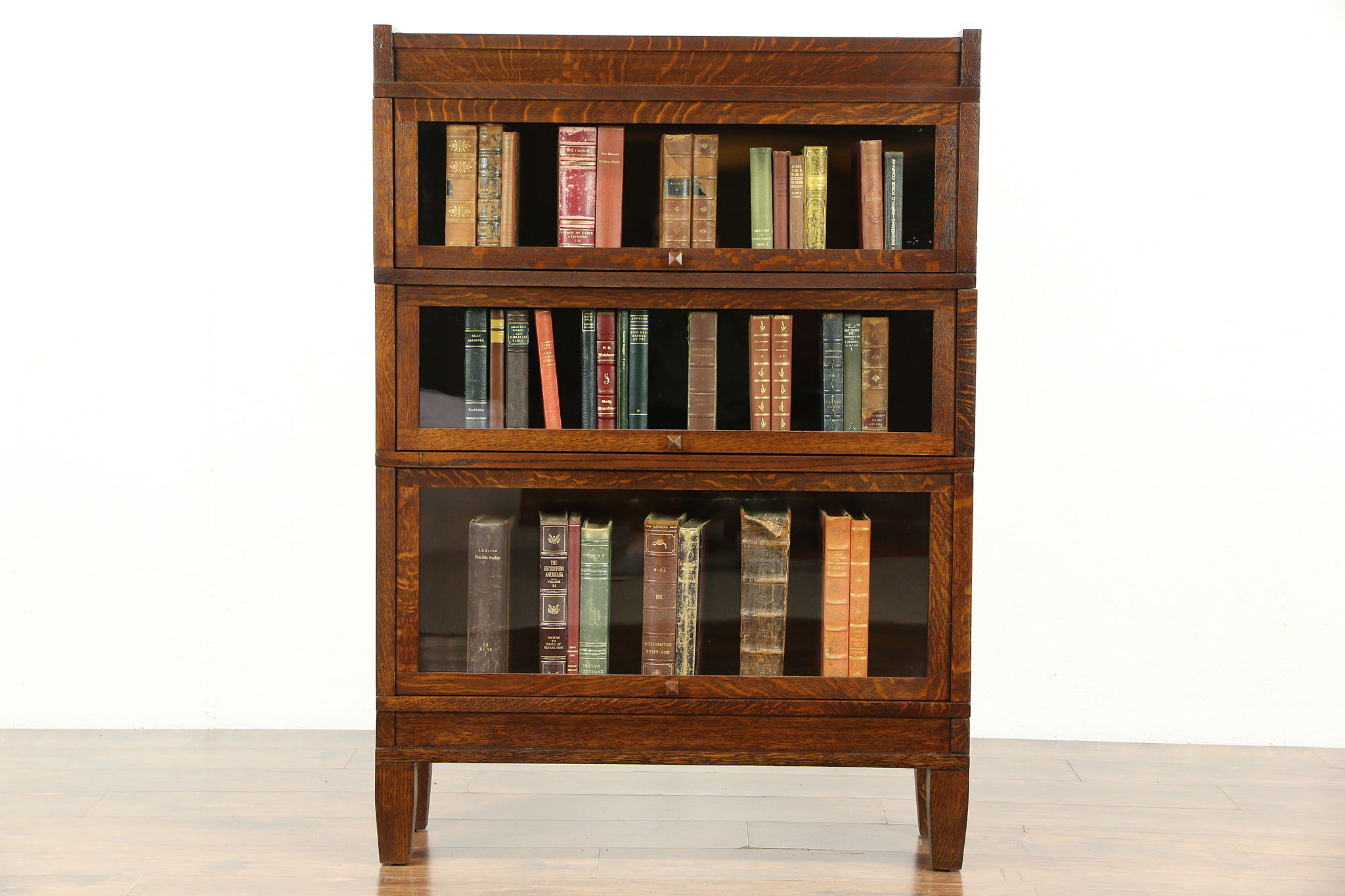 Bookcases, Library Cabinet - Harp Gallery Antique Furniture