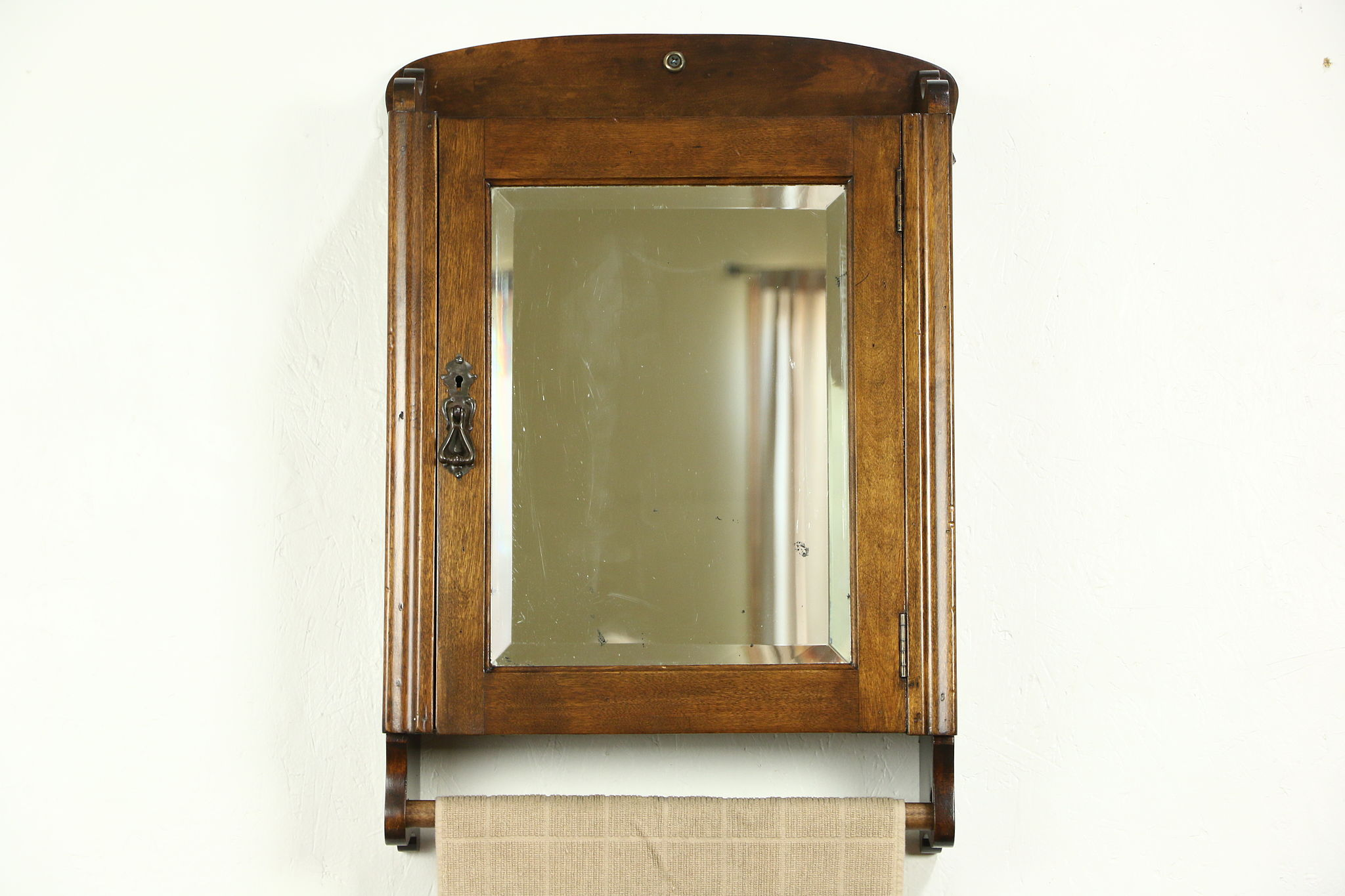 wall mirror lighted tremendous cabinet medicine corner mirrored most genius antique with light