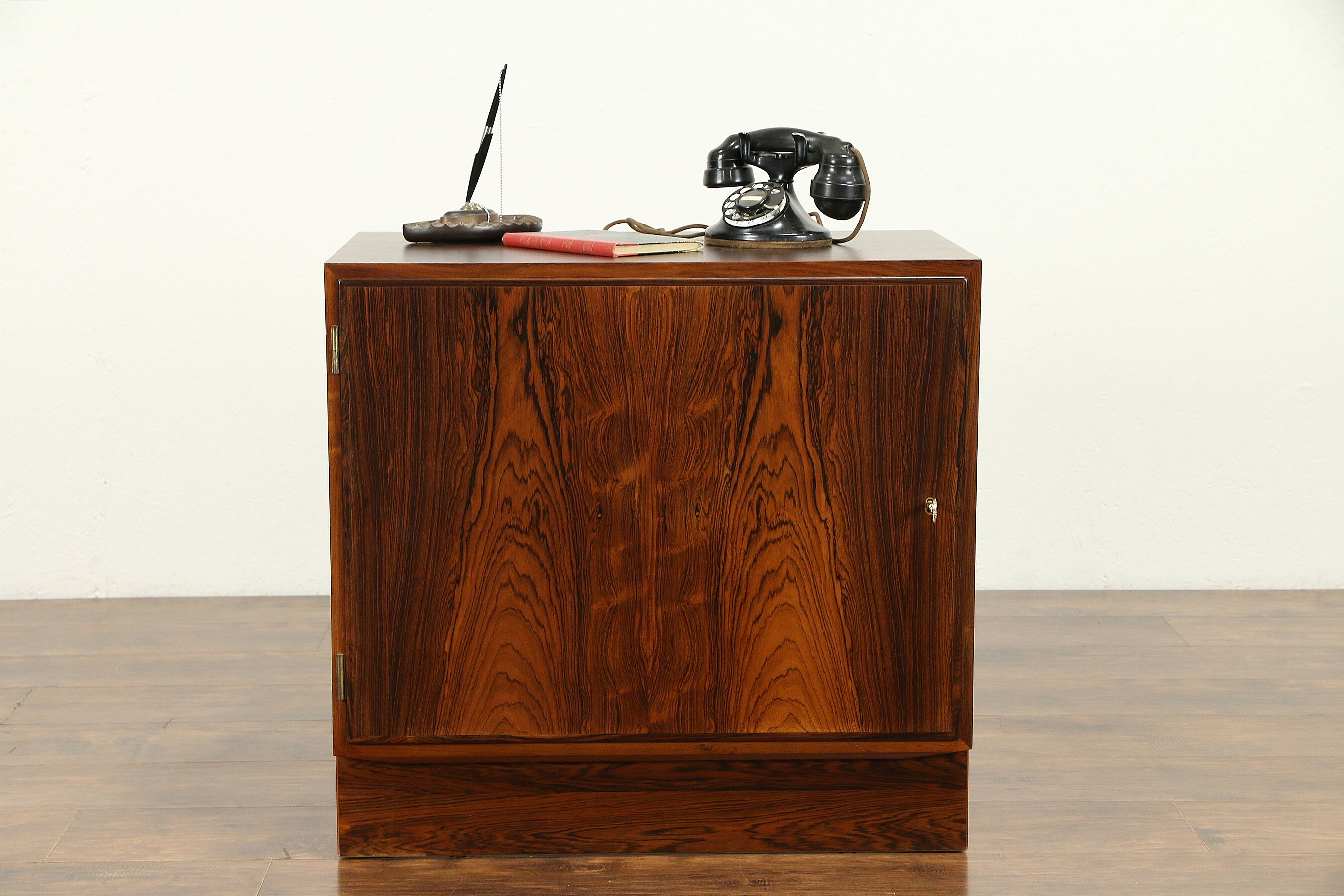 Sold Rosewood Mid Century Modern Danish Cabinet Or End Table