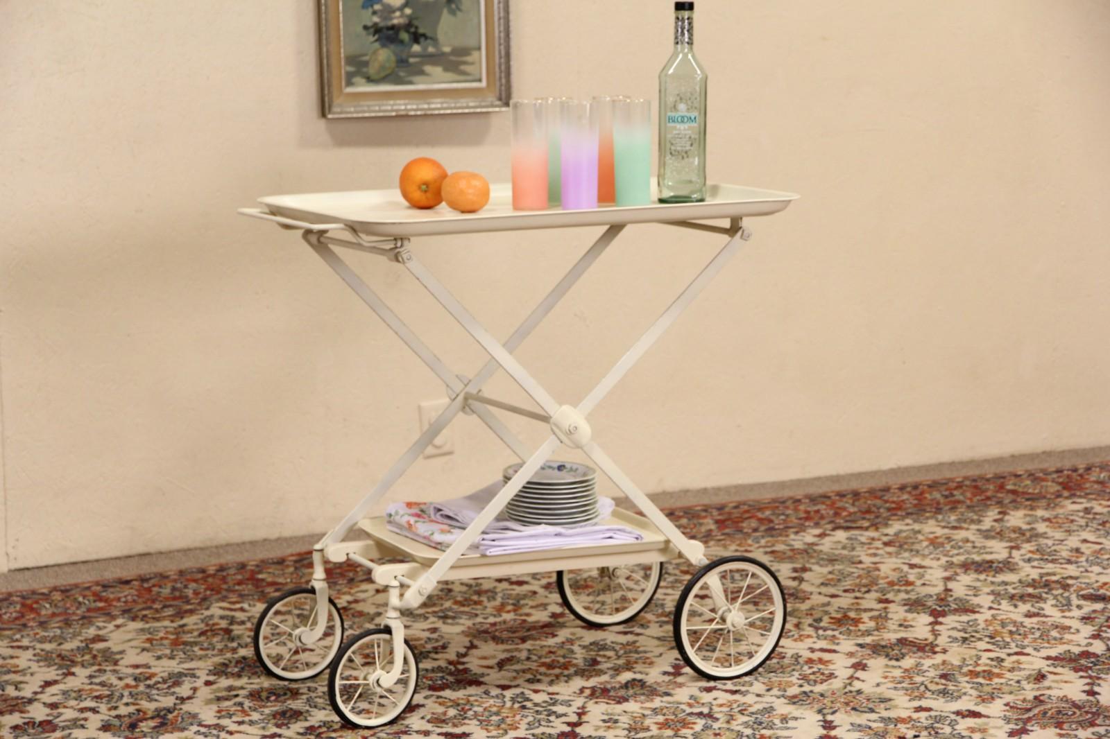 Sold Medical 1920 S Folding Cart Beverage Tea Or