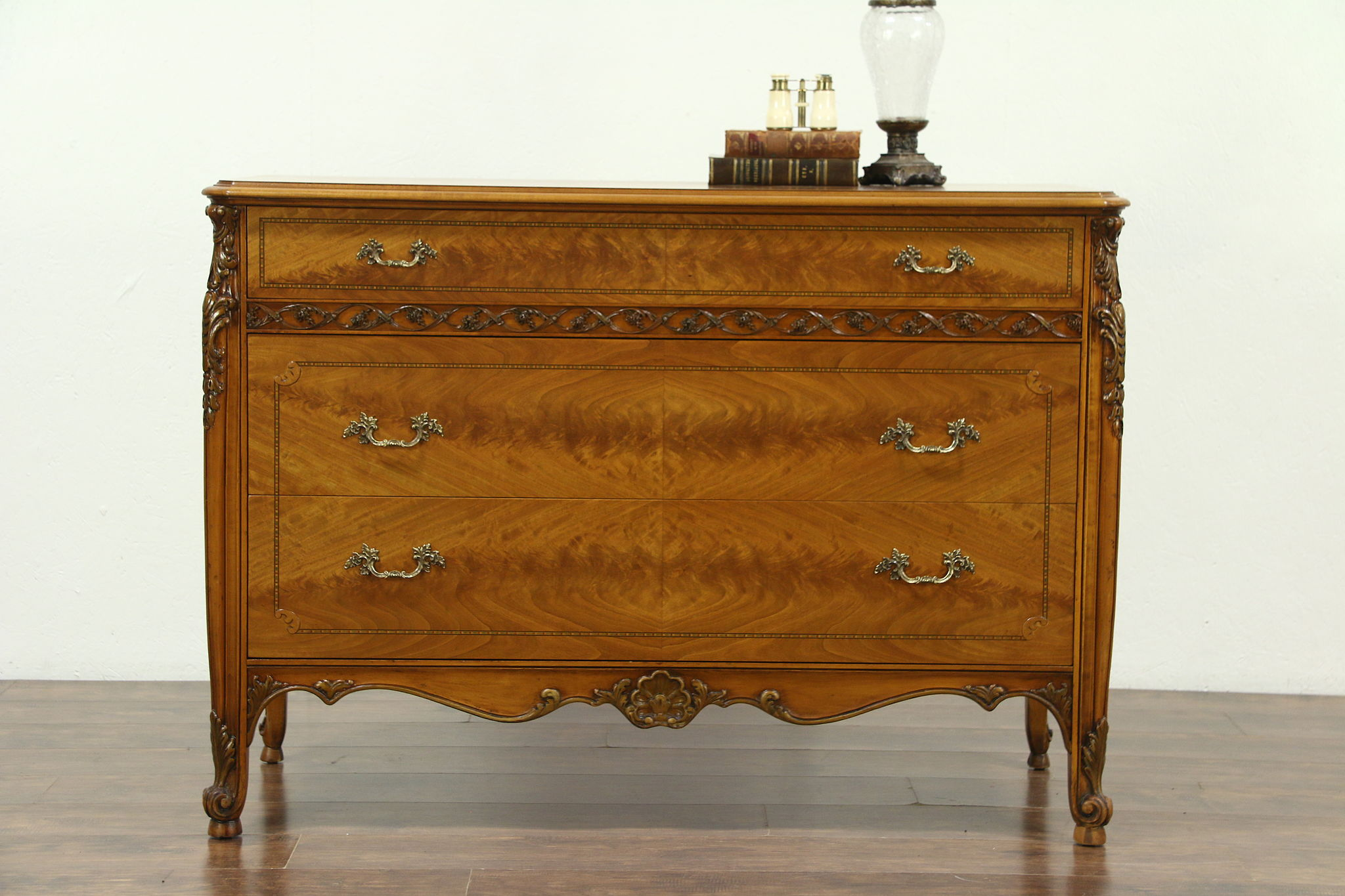 Other Antique Furniture Edwardian (1901-1910) Antique Satinwood Dresser
