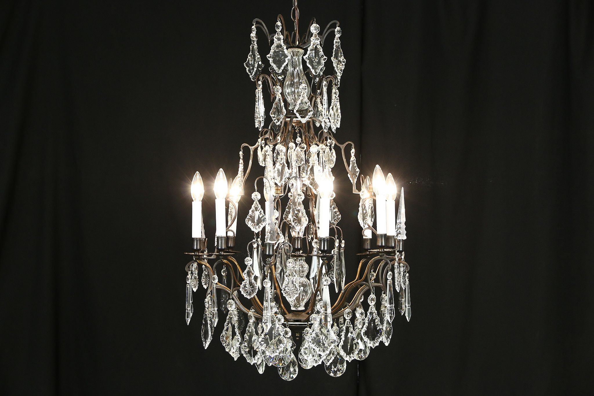 fascinating candles plastic molded sold acrylic prisms setup chandelier lighting cut gallery and suppliers gold