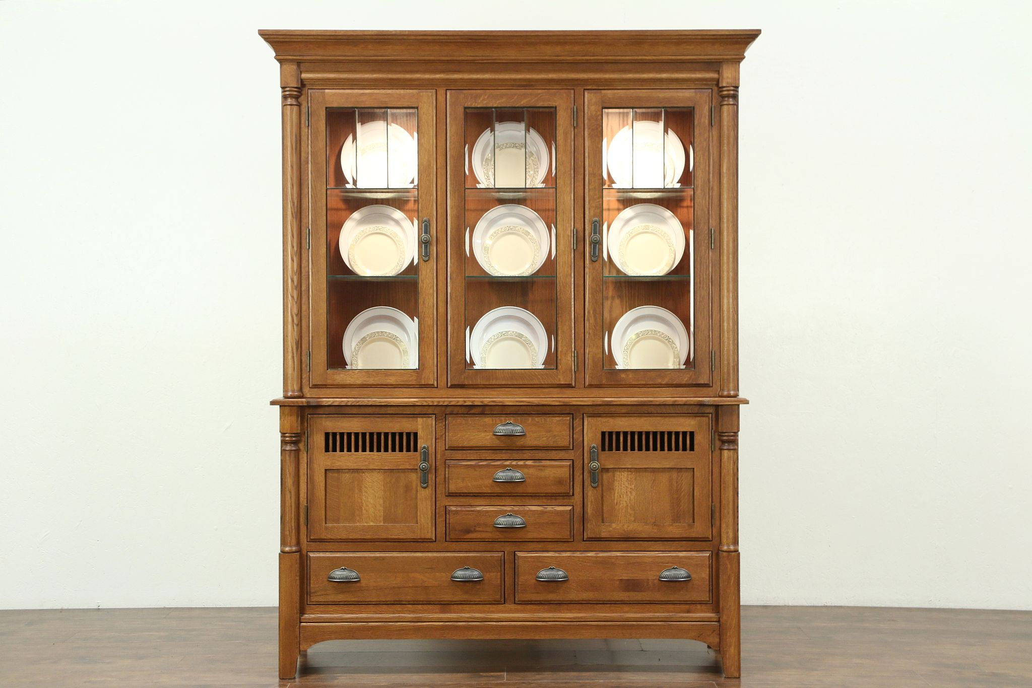 buffets ikea cabinet dark corner brothers hutch office used modern and black china oak display continental farmhouse cabinets hutches brown