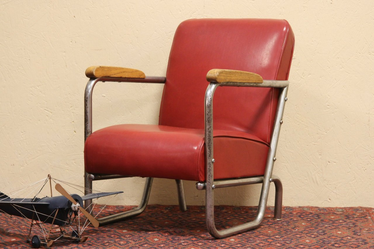 Midcentury Modern Dixie Chrome Vintage 1950u0027s Child Chair & SOLD - Midcentury Modern Dixie Chrome Vintage 1950u0027s Child Chair ...