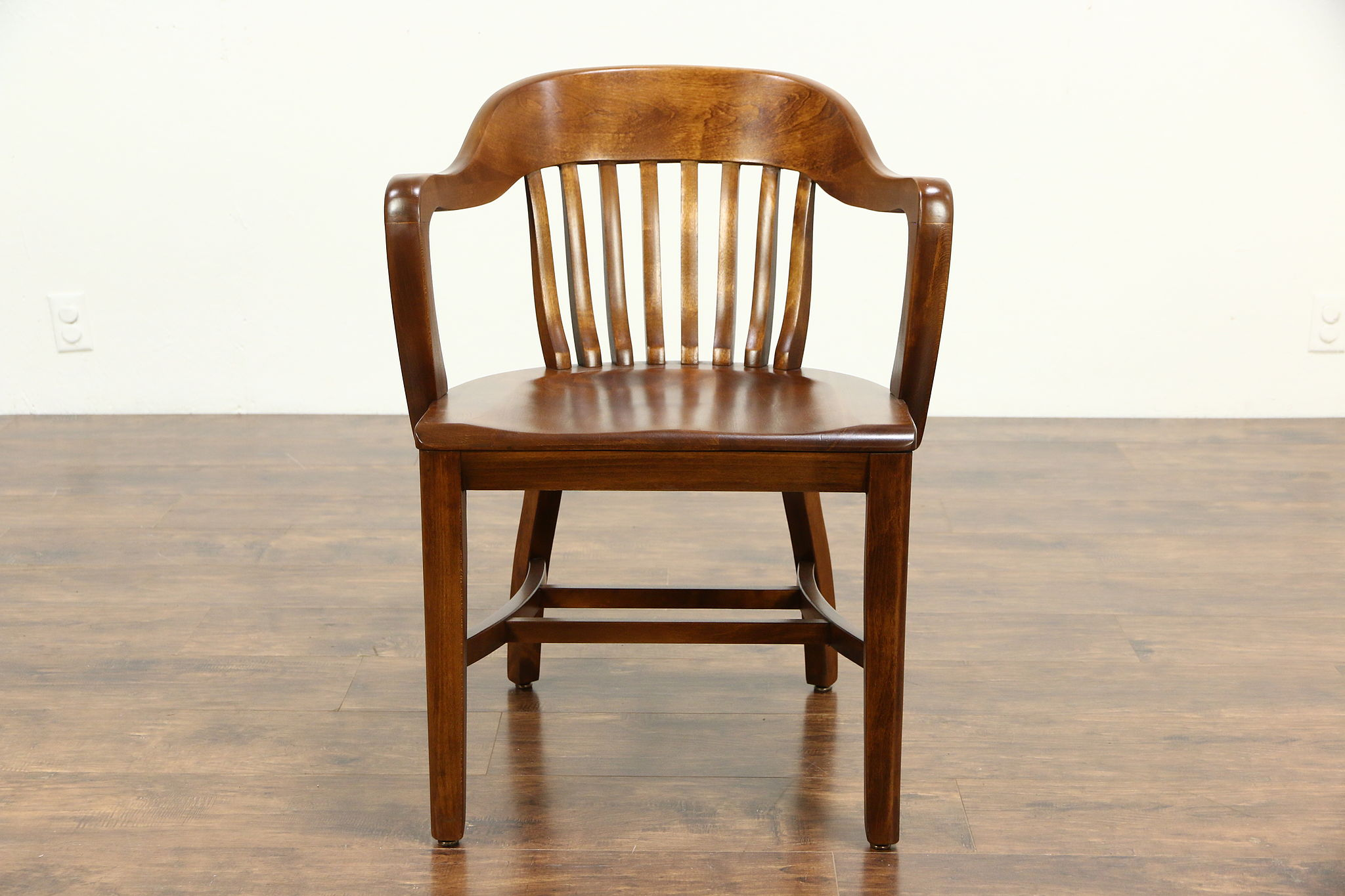 Sold Desk Office Or Library Chair With Arms 1940