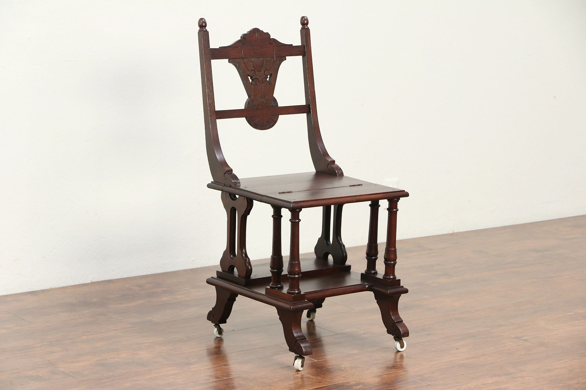 Sold Victorian Eastlake Antique Metamorphic Chair