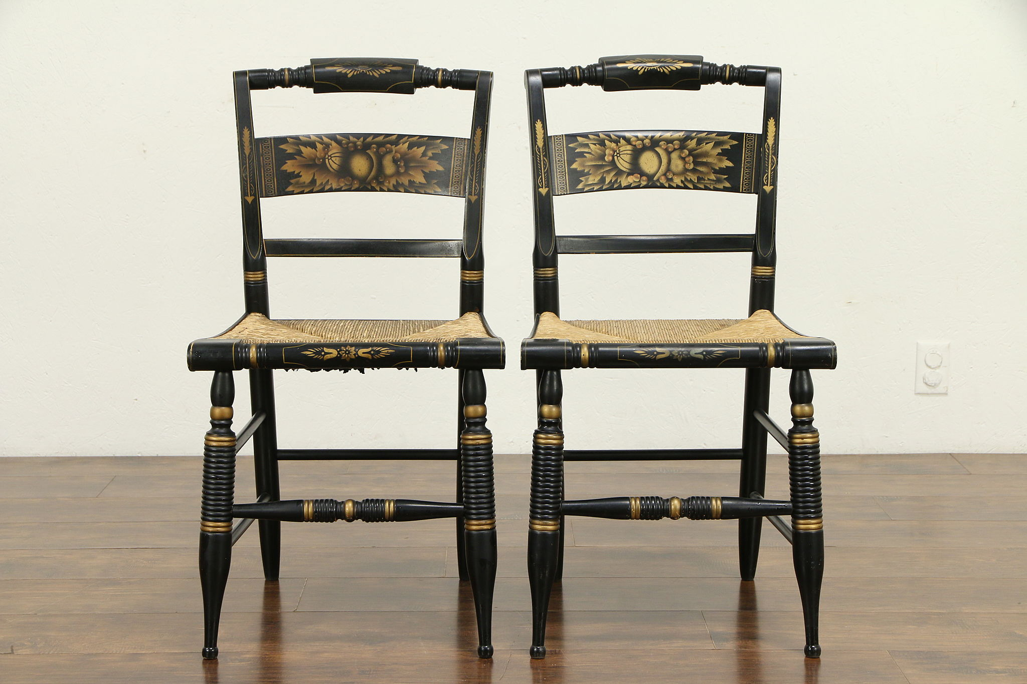 Hitch Antique Dining Chairs