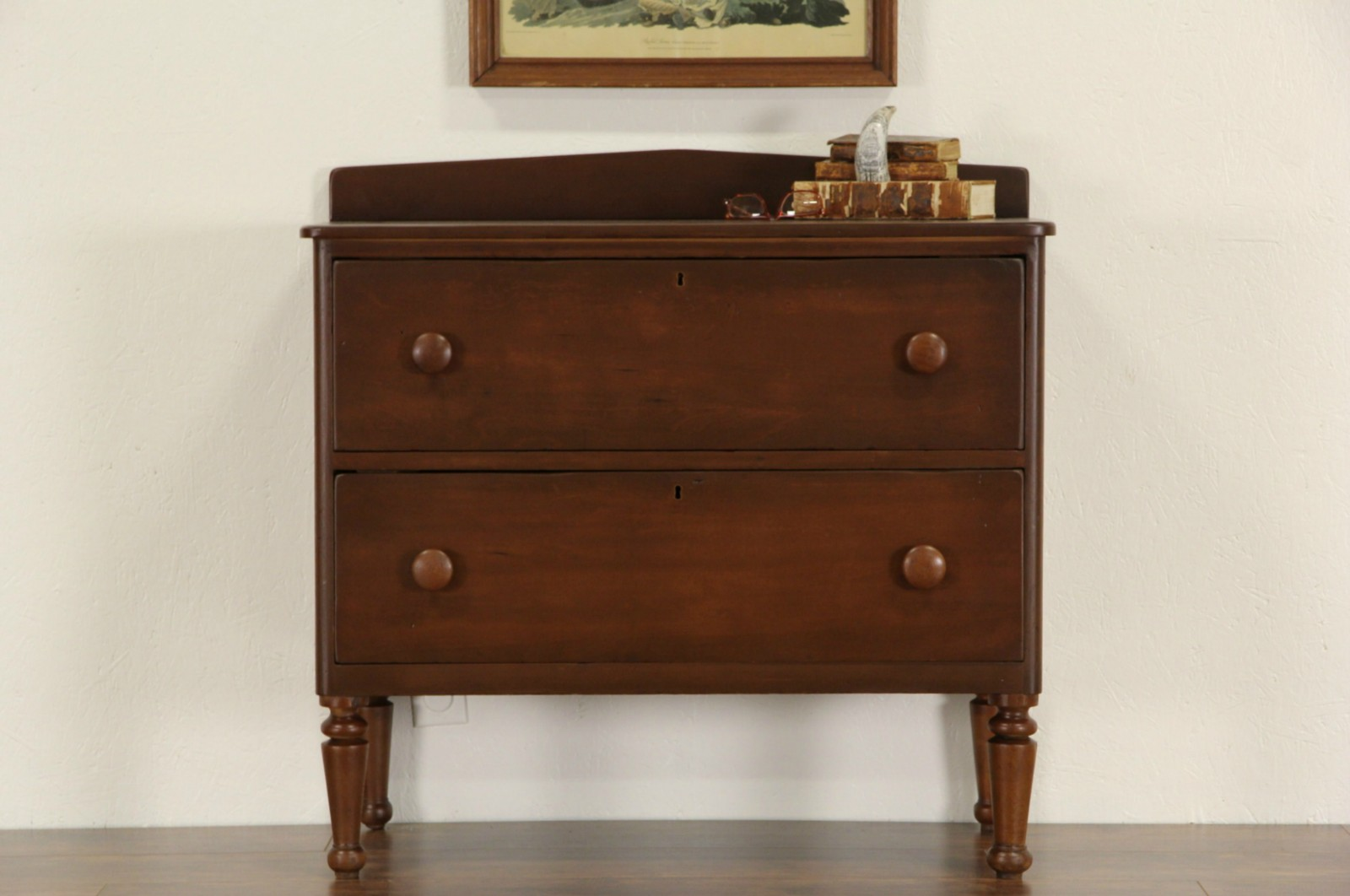 Sold Country 1840 S Antique Primitive Chest Or Dresser