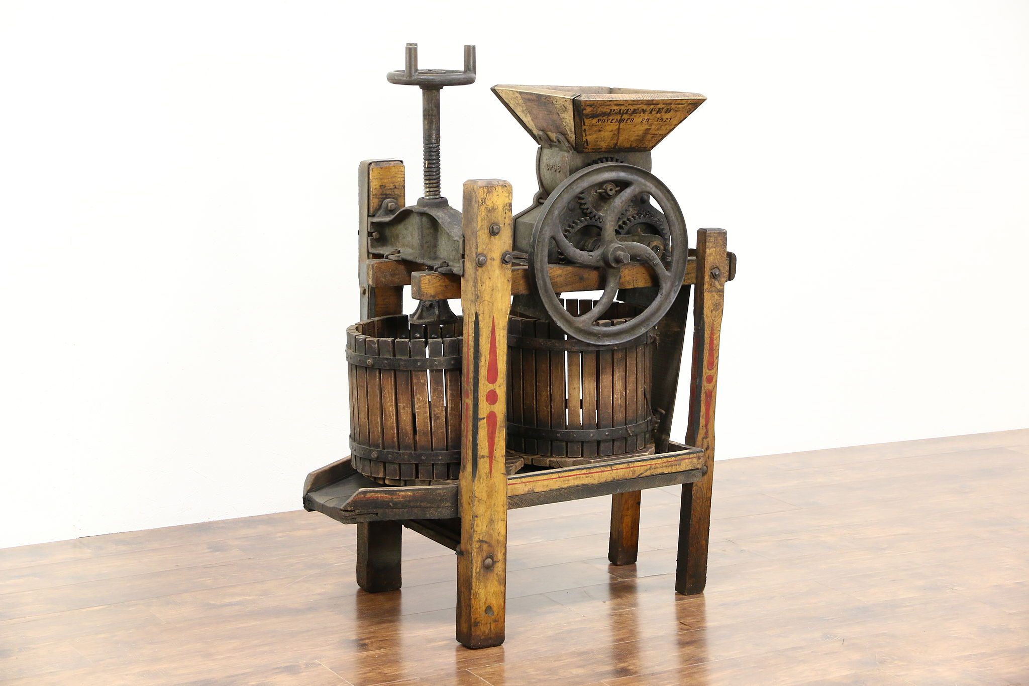 Sold Apple Cider Or Wine Press Standard Medium 1900