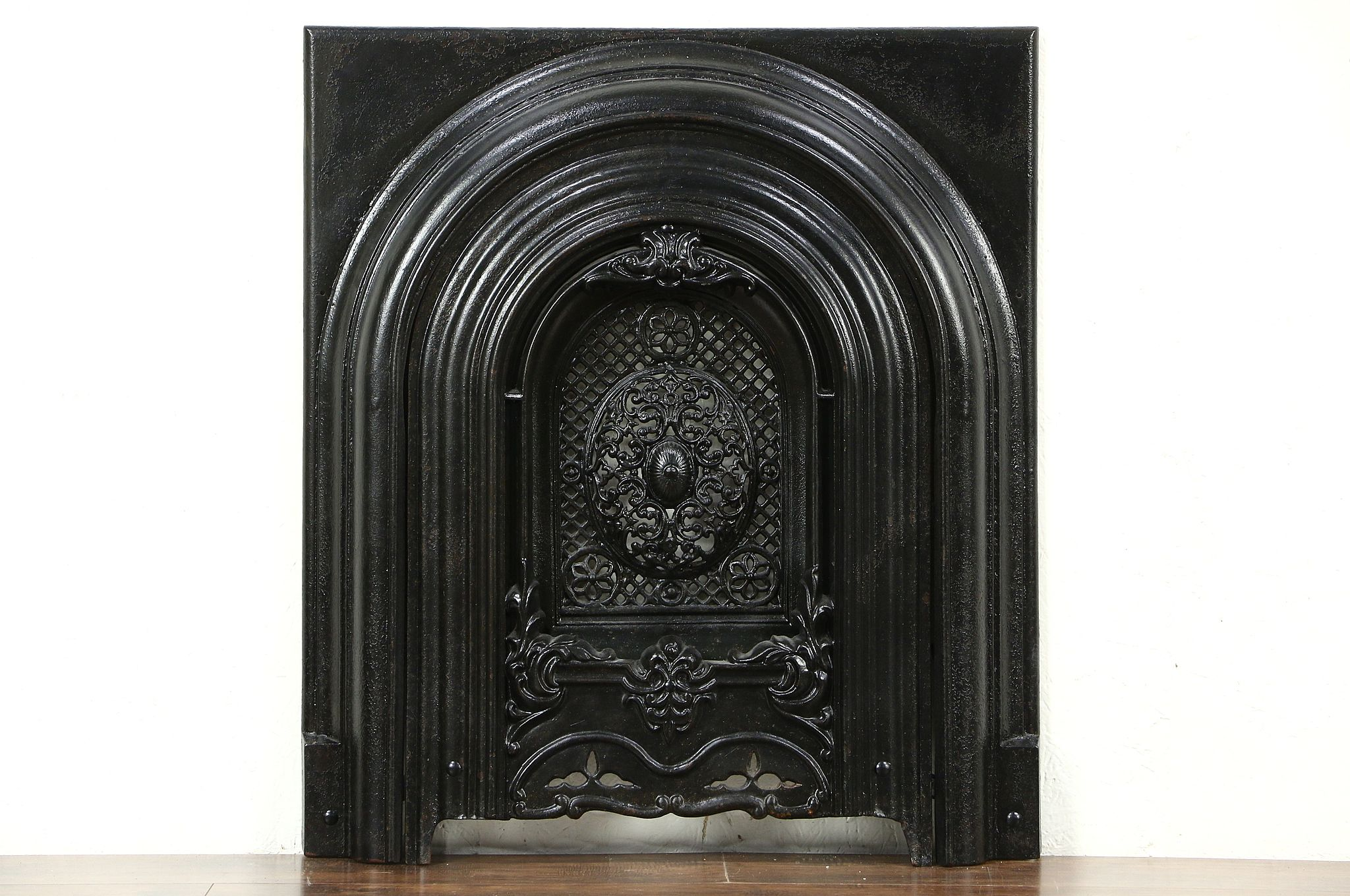 Victorian 1860 S Architectural Salvage Antique Fireplace Summer Cover