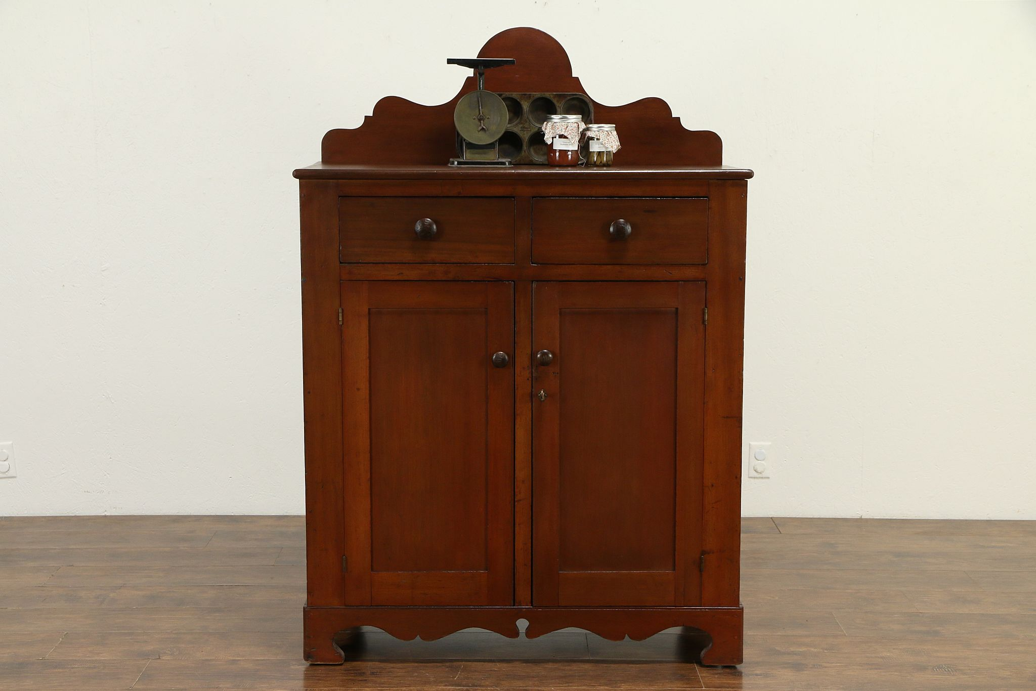 Country Kitchen Pantry Cabinet Antique