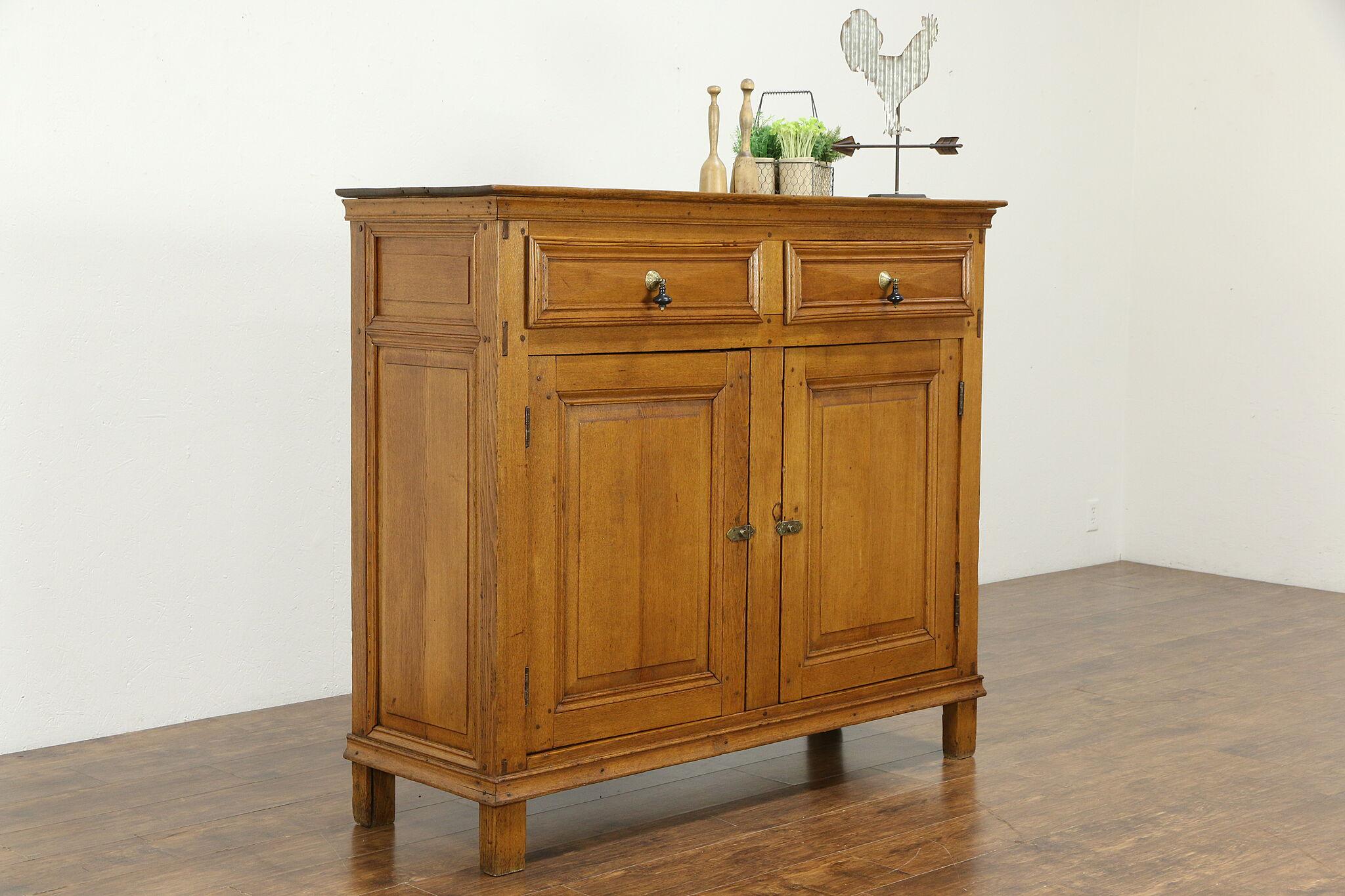 Ash Kitchen Pantry Cabinet