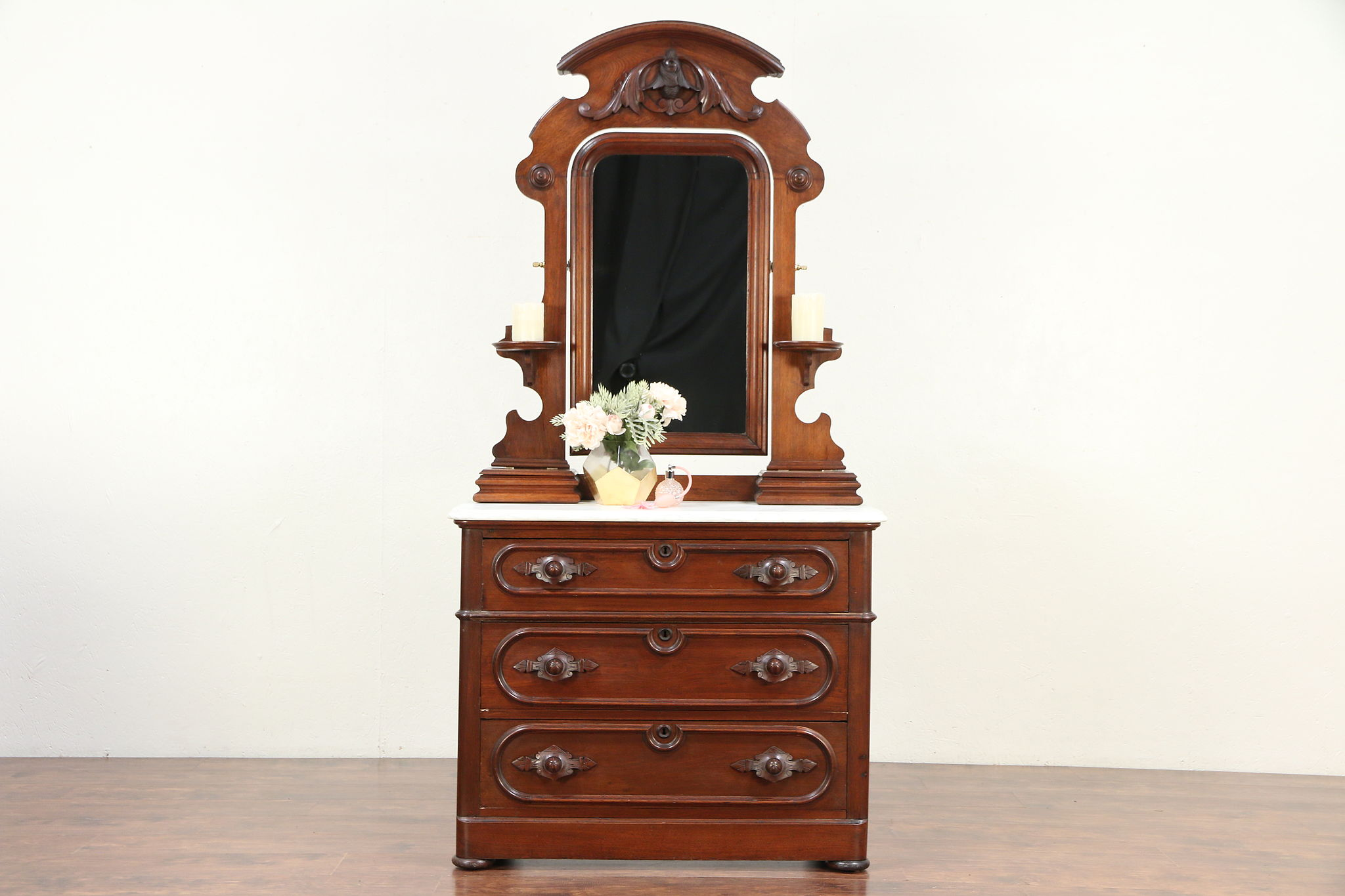 Sold Victorian Antique Chest Or