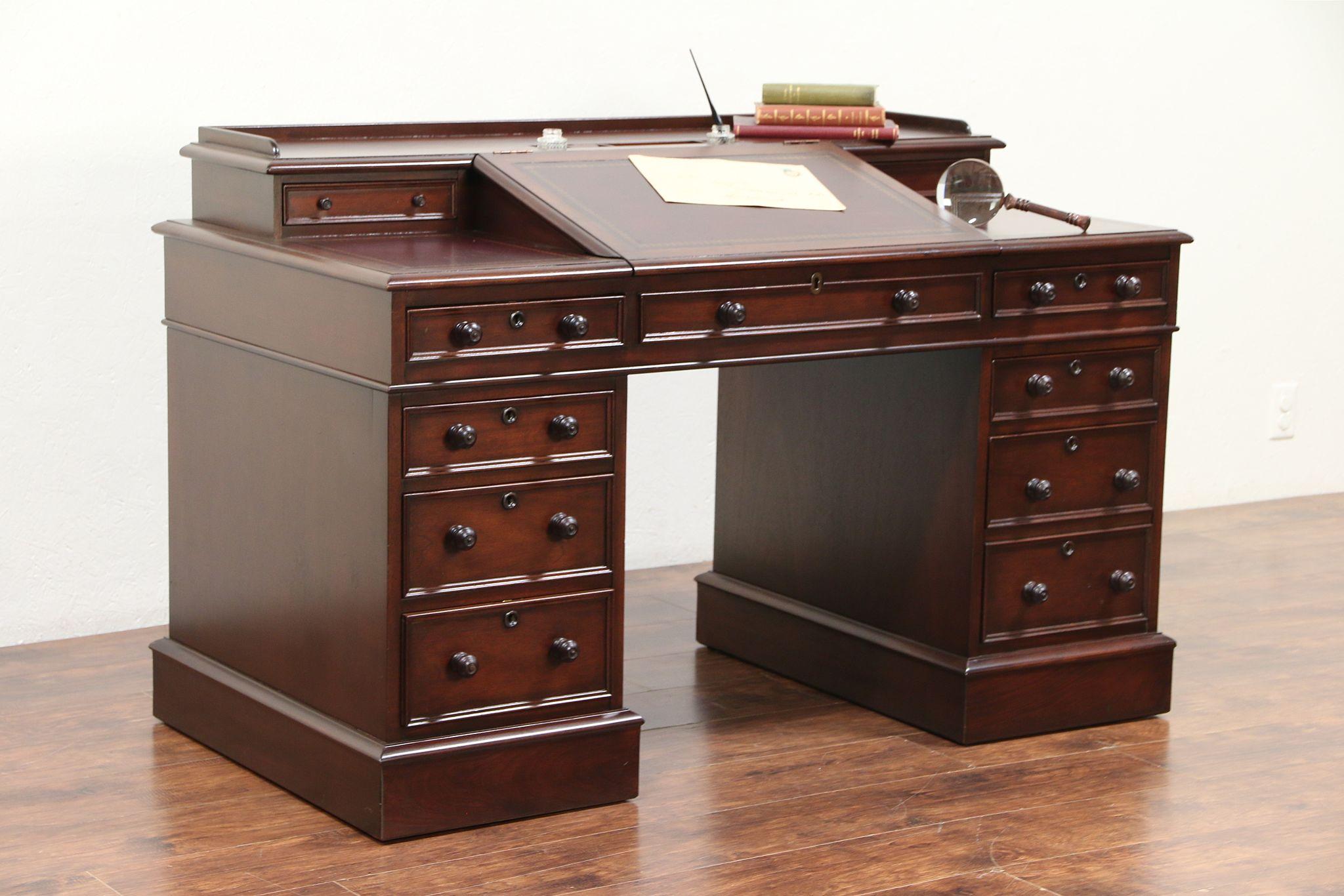 Charles Ens Replica Mahogany Desk