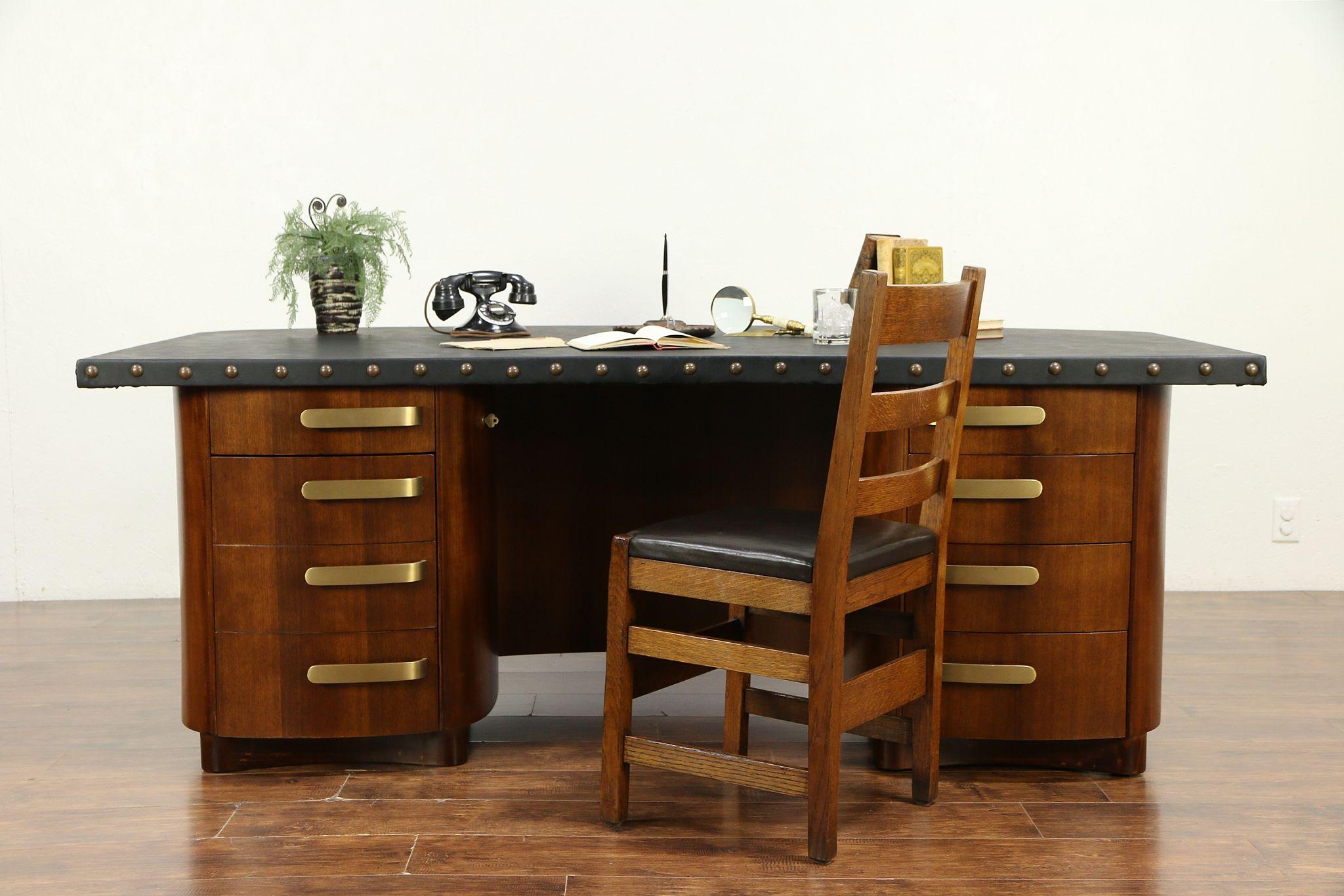 Sold Midcentury Modern 1960 Vintage Executive Conference Desk