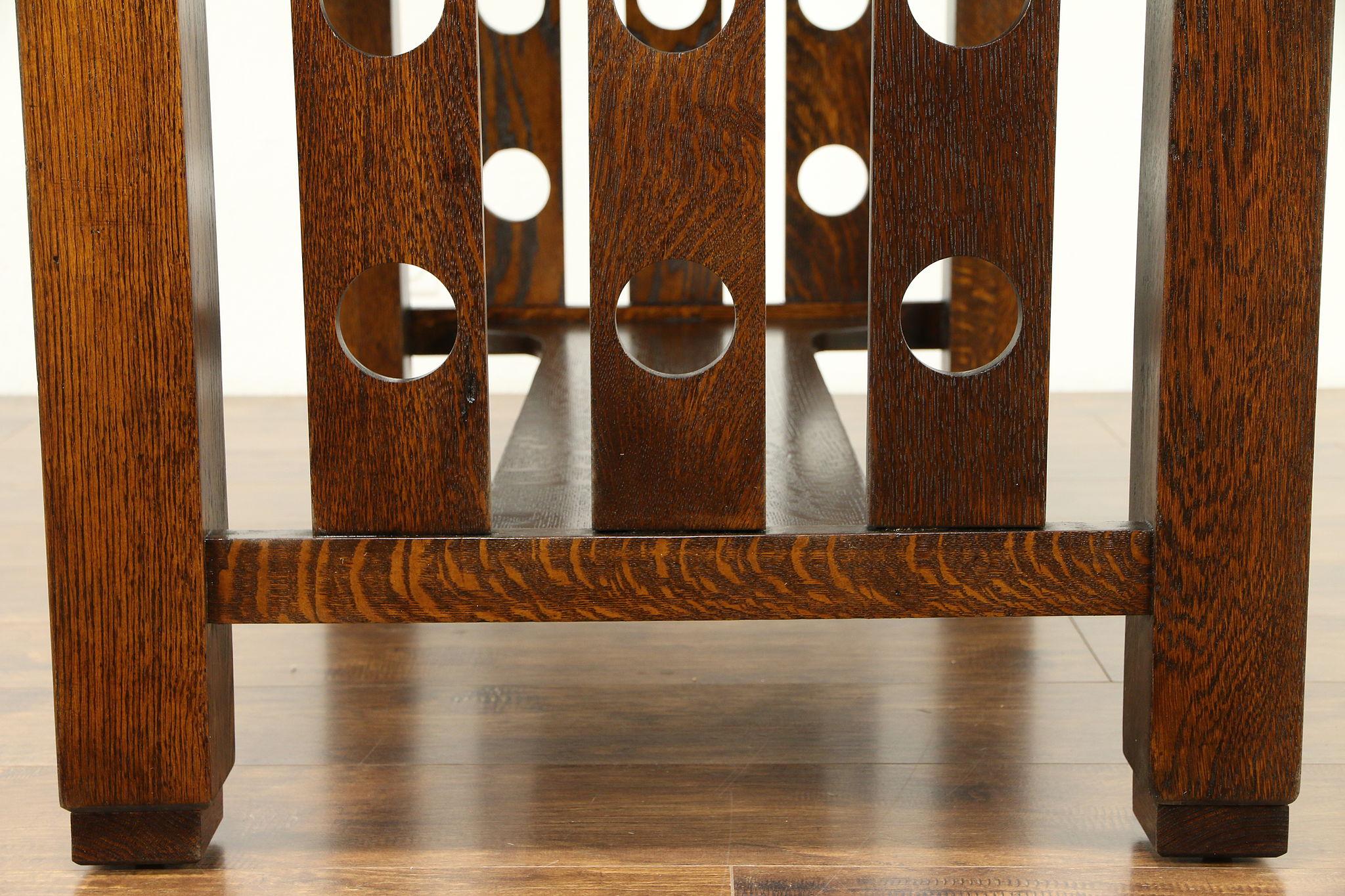Arts Amp Crafts Mission Oak Antique Cadillac Desk Craftsman