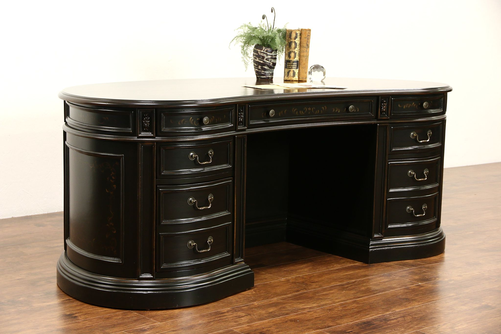 kidney tables desk desks pin gorgeous and writing table shaped
