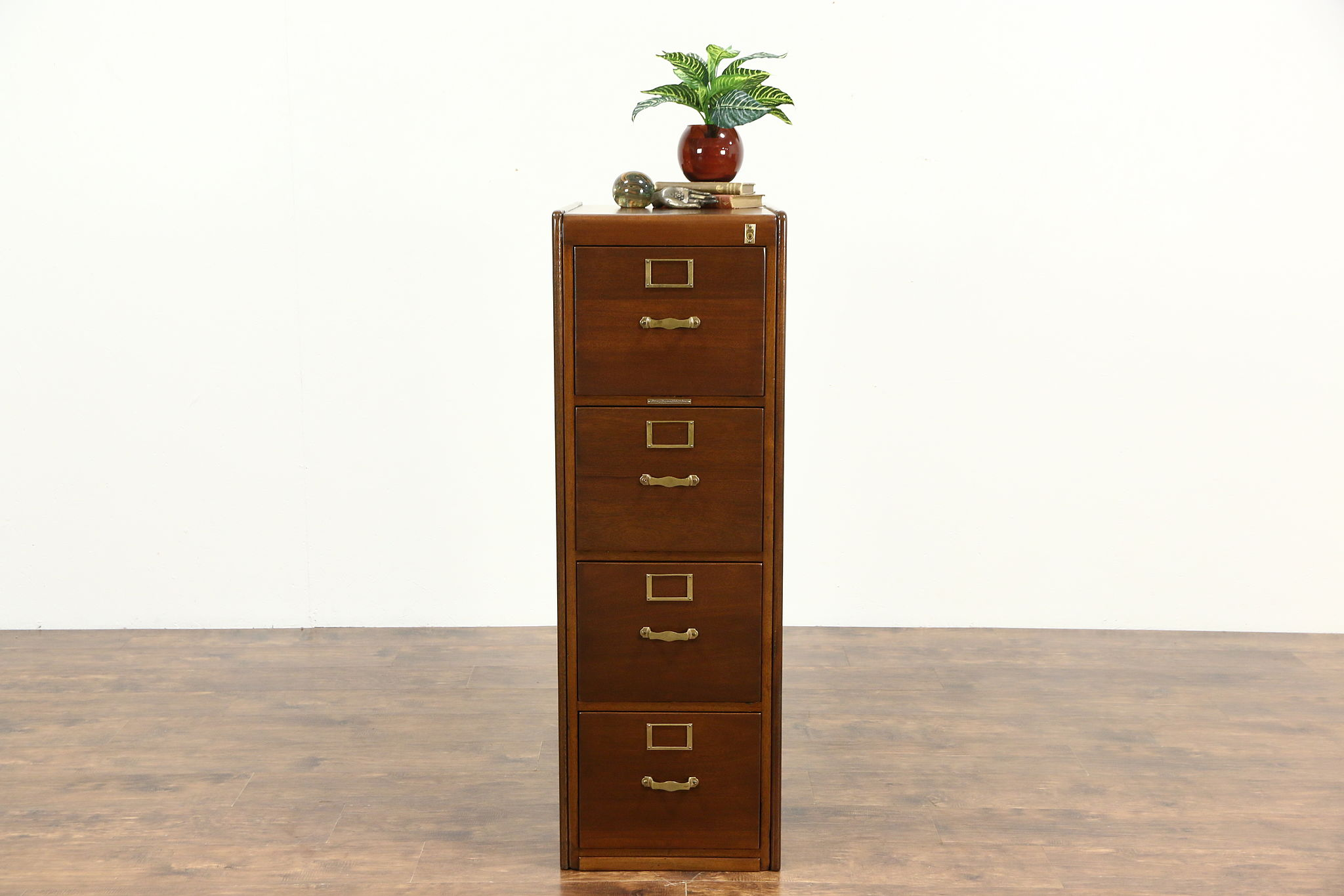 drawer w file o d x four locking vertical h cabinet product oak traditional