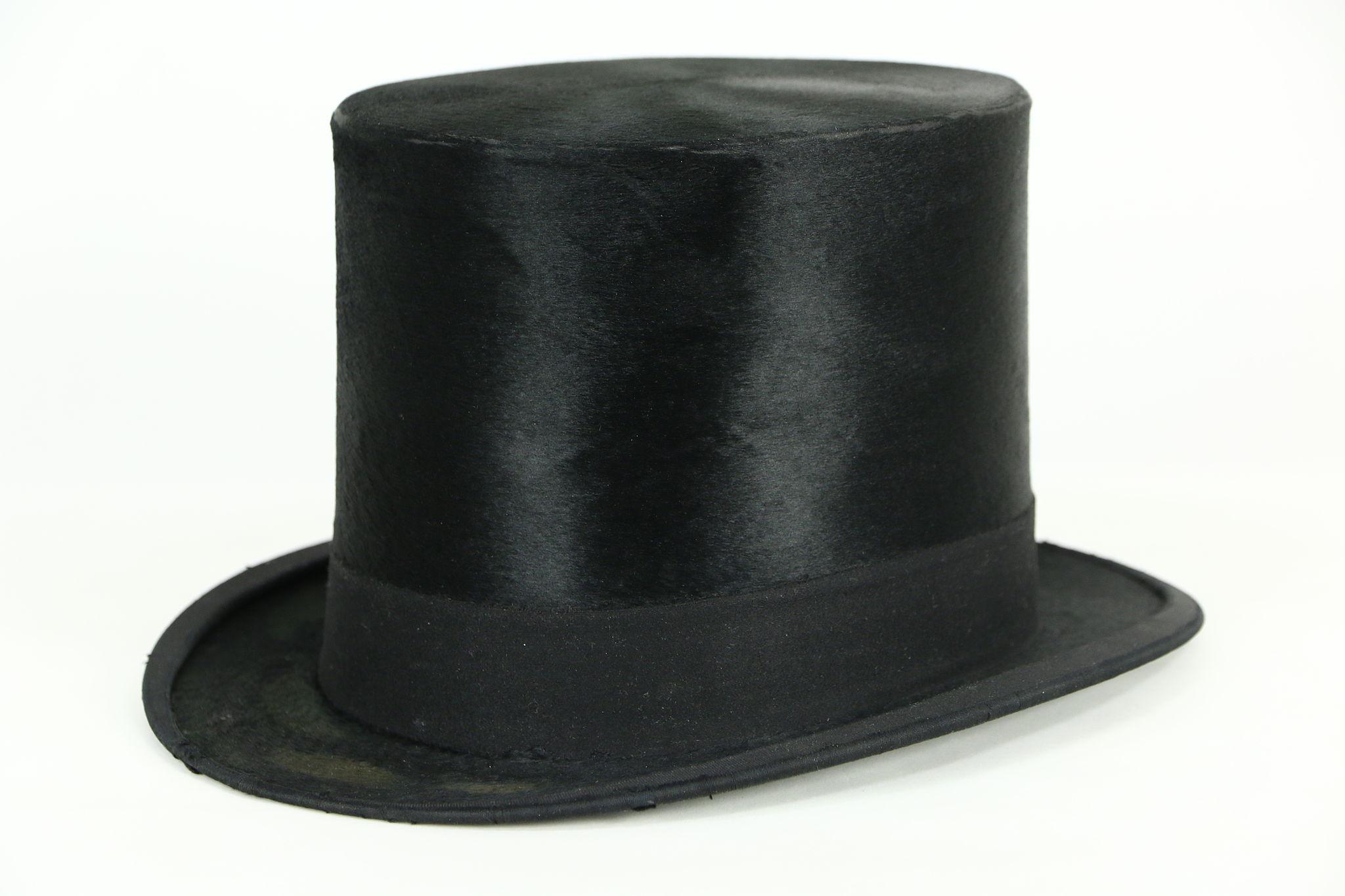 SOLD - Beaver Silk Antique late 1800 s Antique Top Hat bf432c2eec0