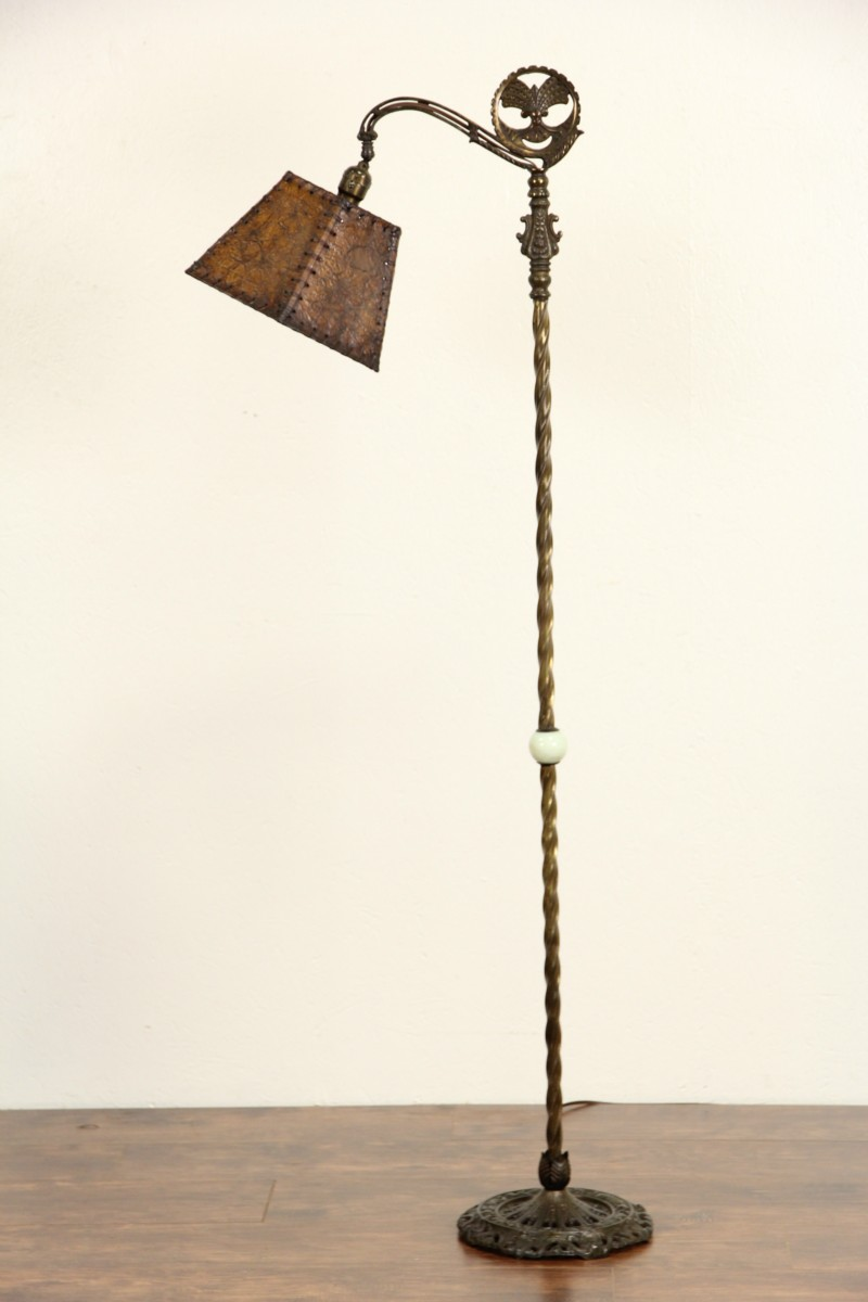 Sold Bridge Reading Antique 1915 Floor Lamp Original