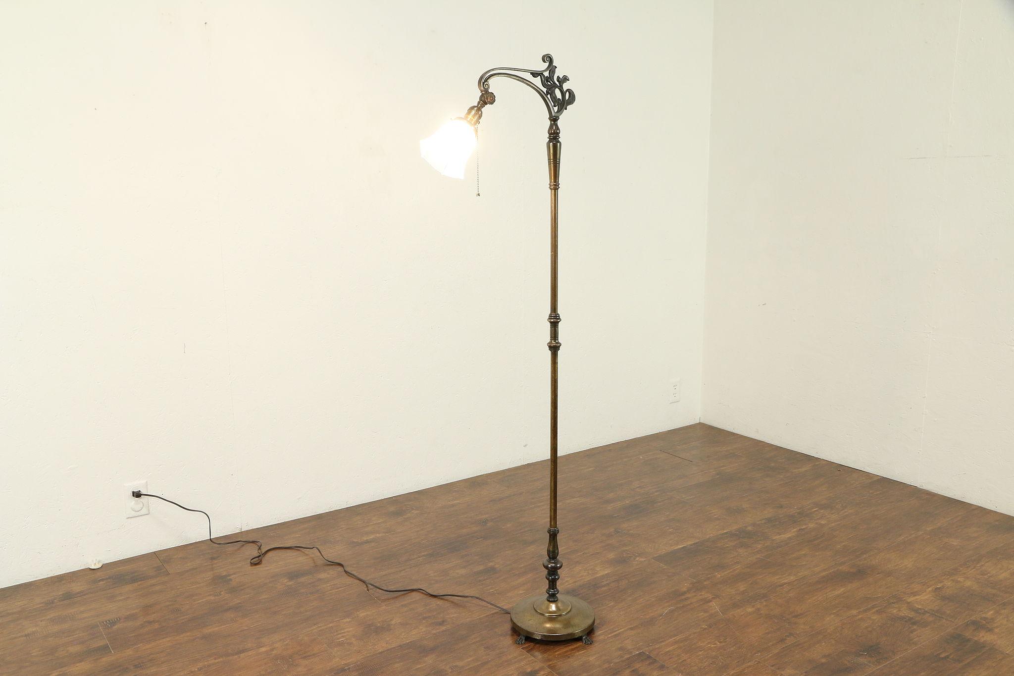 Bridge Reading Or Antique Floor Lamp