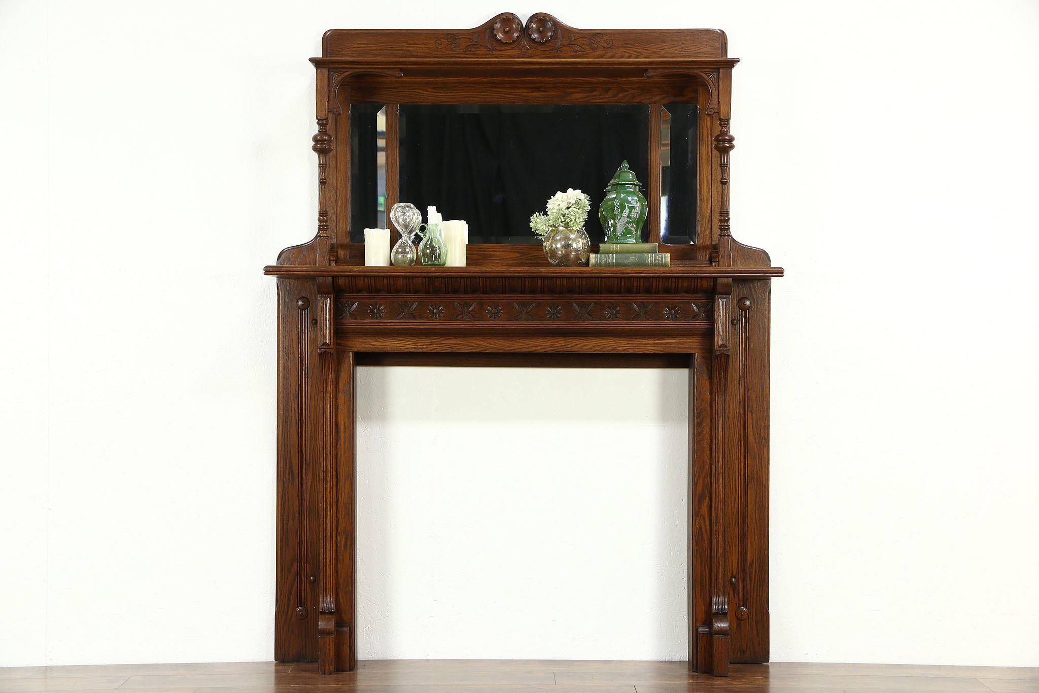 Sold victorian eastlake oak antique architectural for Architecture antique