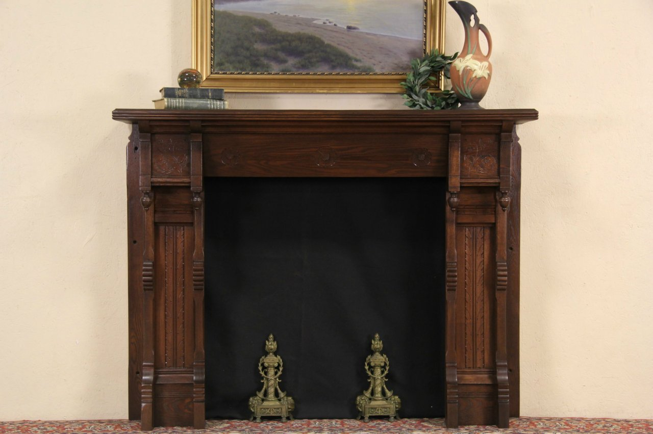 Sold Victorian Eastlake Oak 1880 Antique Salvage