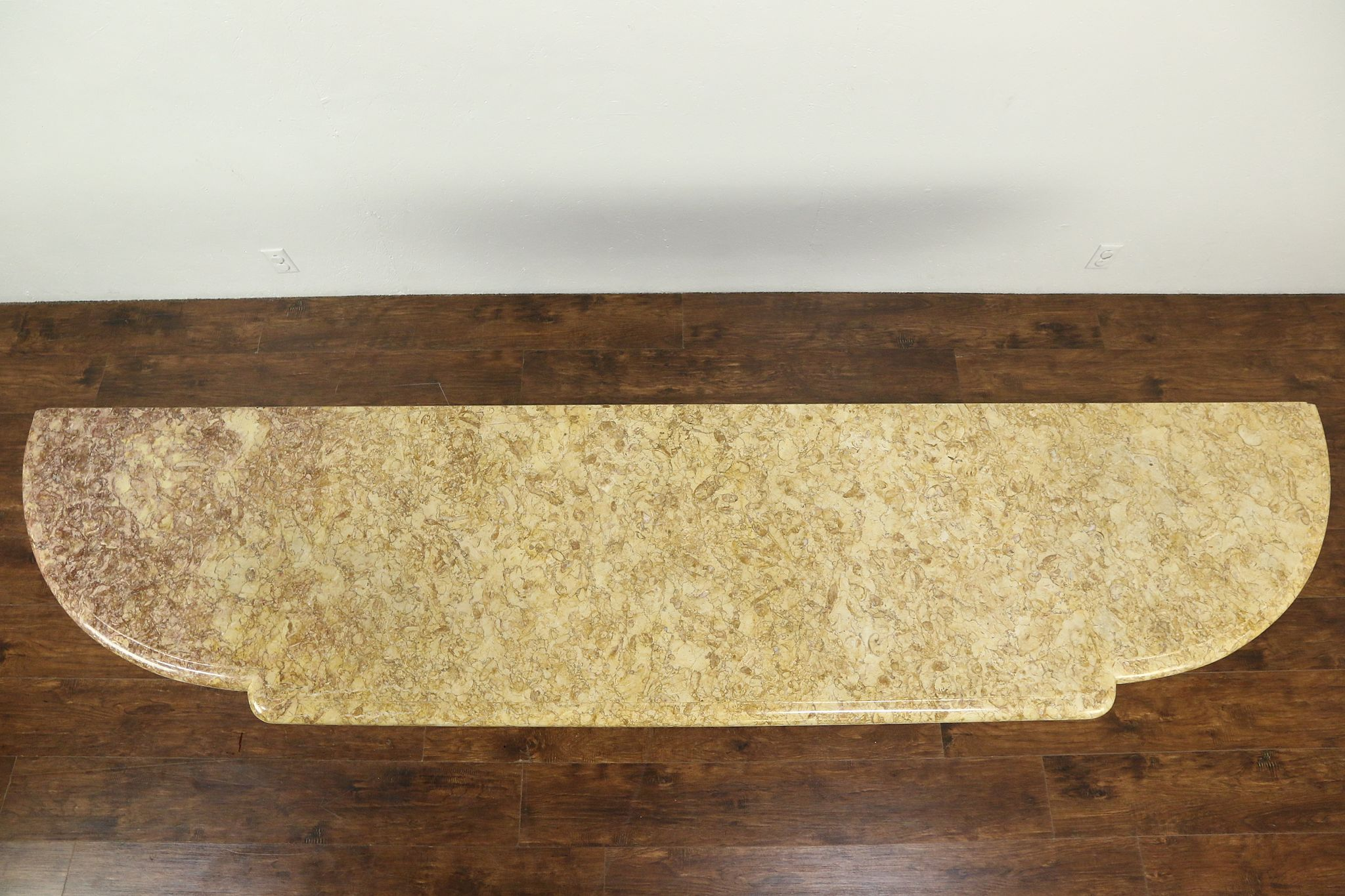 Shaped 8 7 Marble Counter Or Slab Architectural Salvage Photo