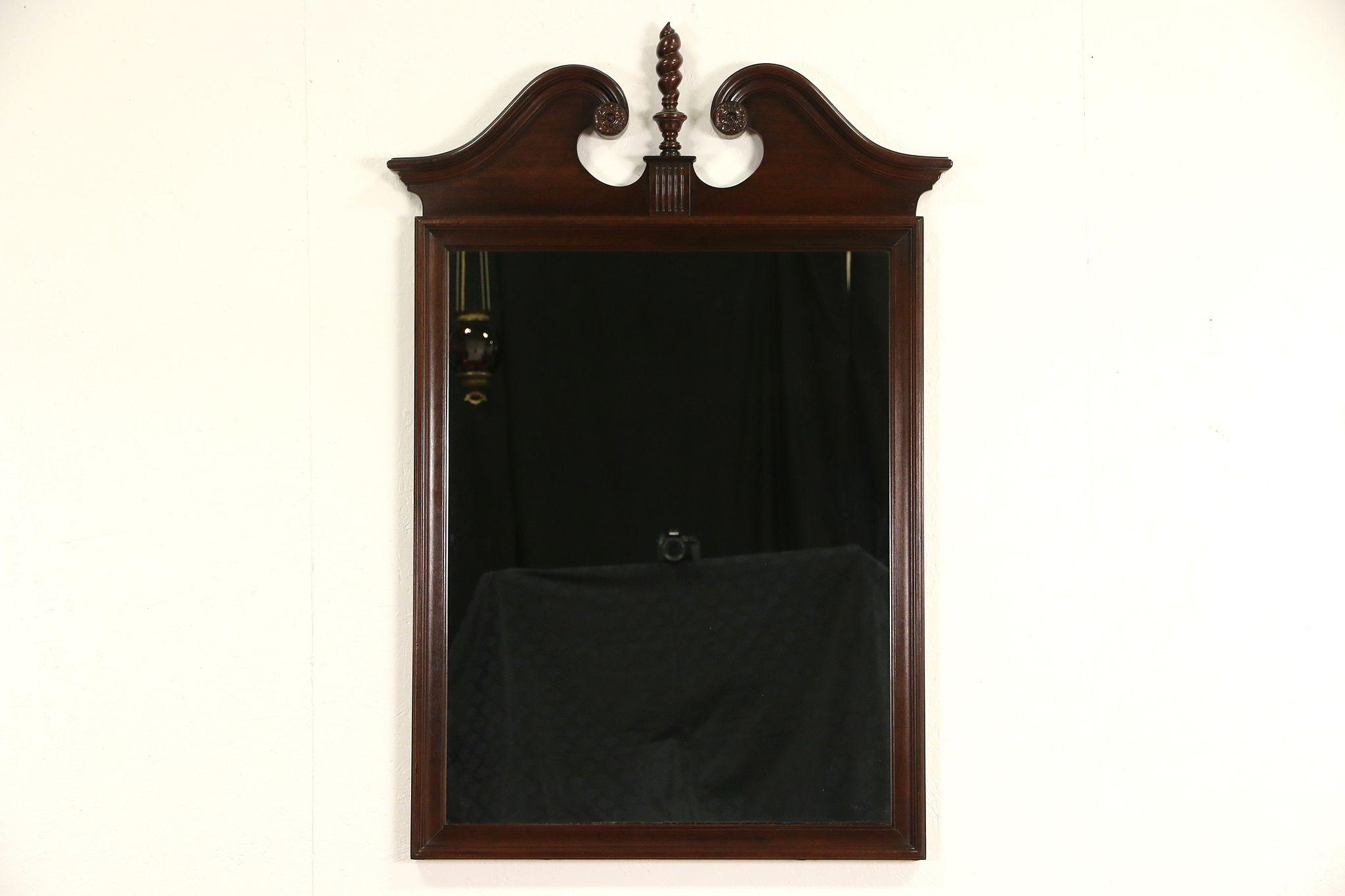 Sold Ethan Allen Cherry Vintage Mirror Harp Gallery