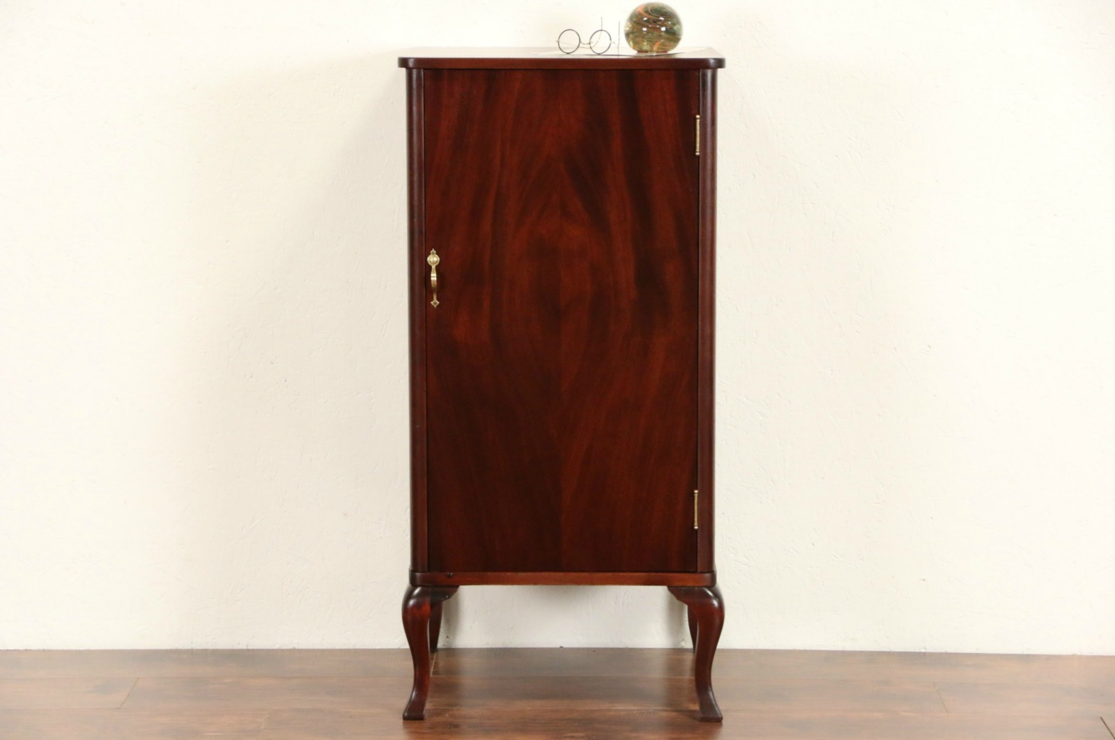 Mahogany Multipurpose Cabinet, Antique 1910 For Sheet Music