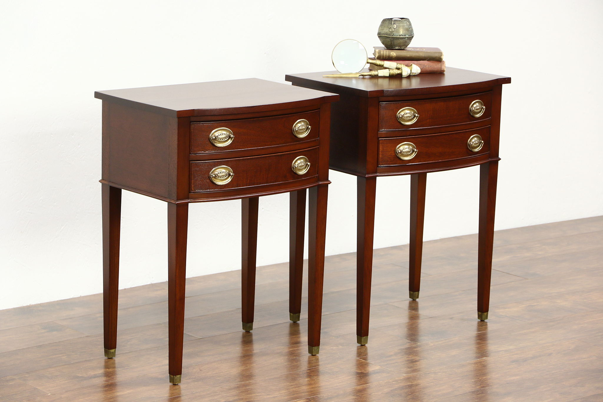 Vintage nightstands we found these vintage nightstands for Extra tall nightstands