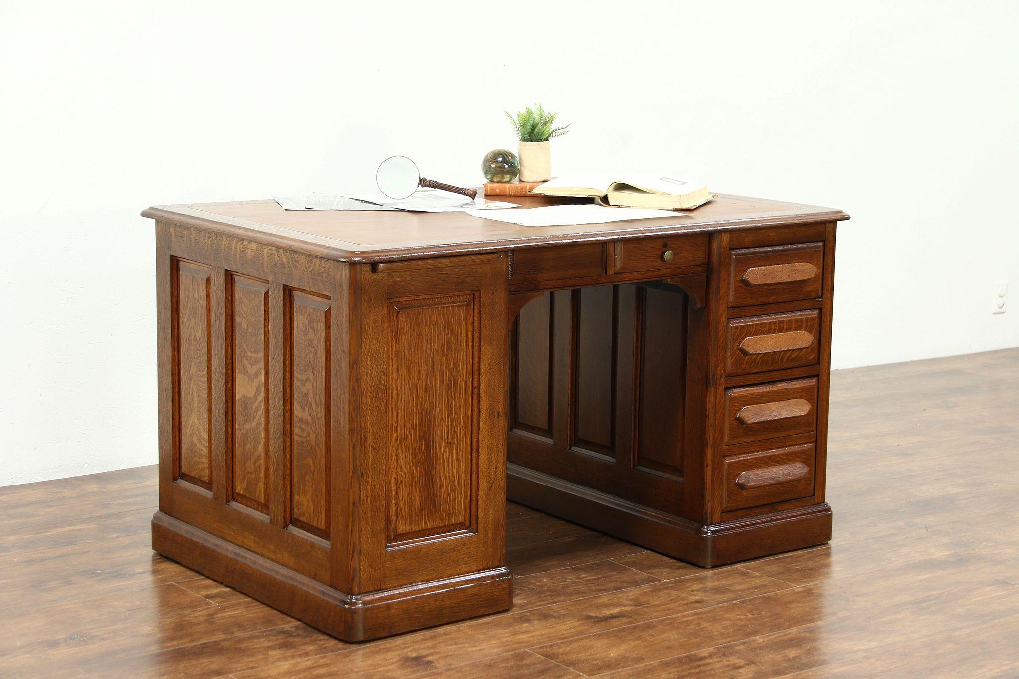 Desk Leather Desk Design Ideas