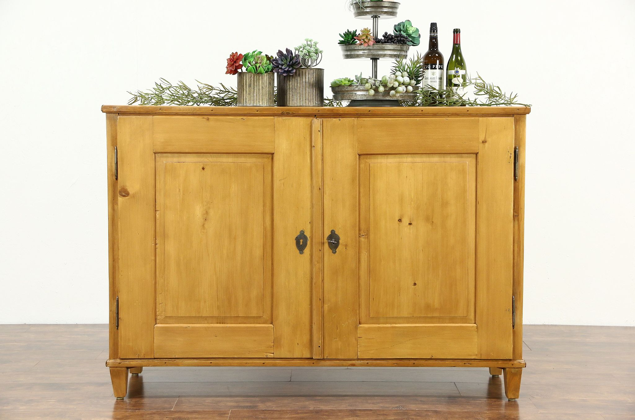 Country Pine Antique 1890 S Sideboard
