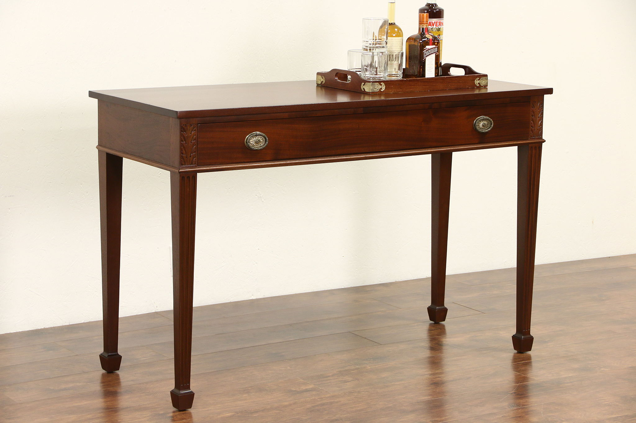 Colby Signed Mahogany Hall Console Or Server ...