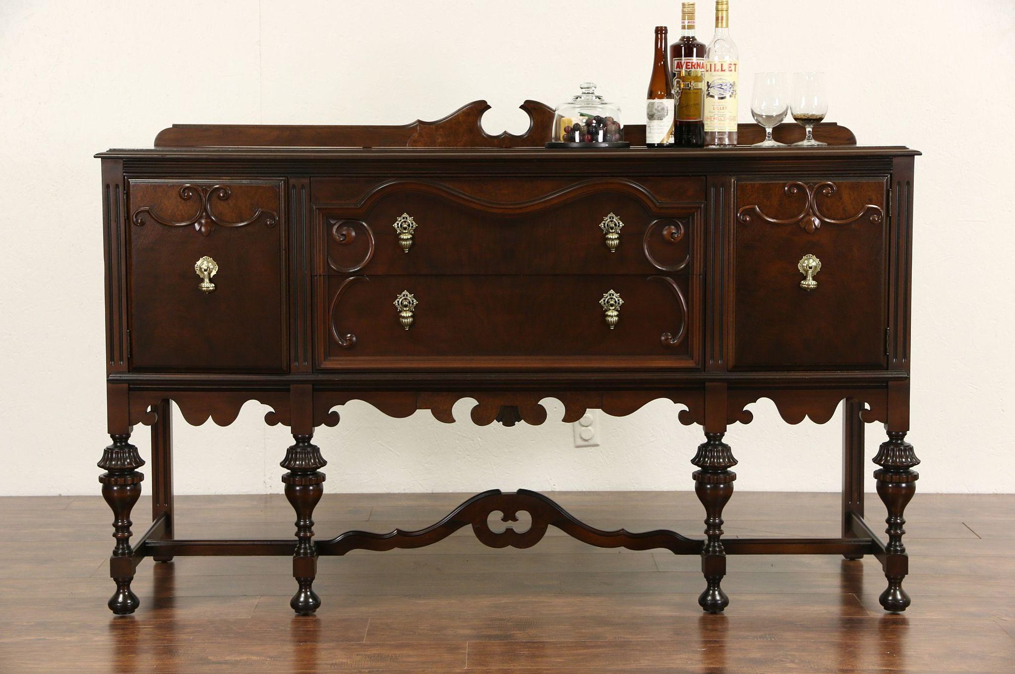 English Oak Dining Room Furniture