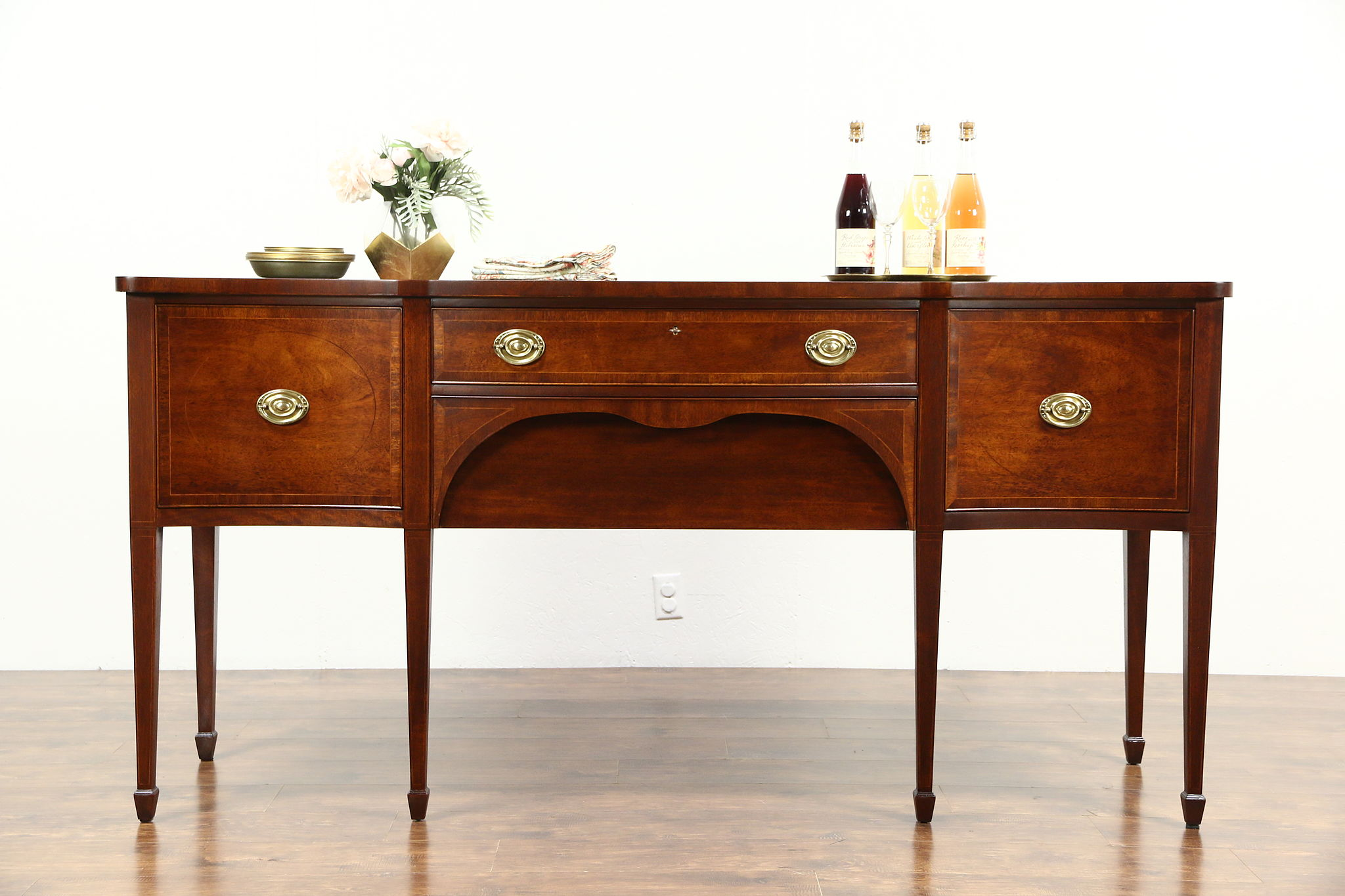 Kittinger Signed Vintage Mahogany Sideboard Server or Buffet