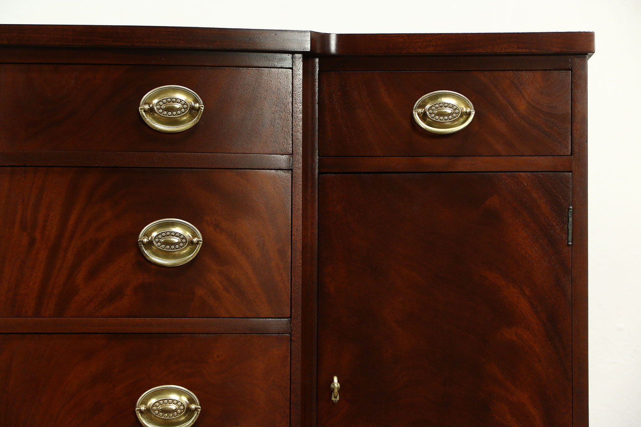 Sold Traditional Vintage Mahogany Sideboard Server Or Buffet
