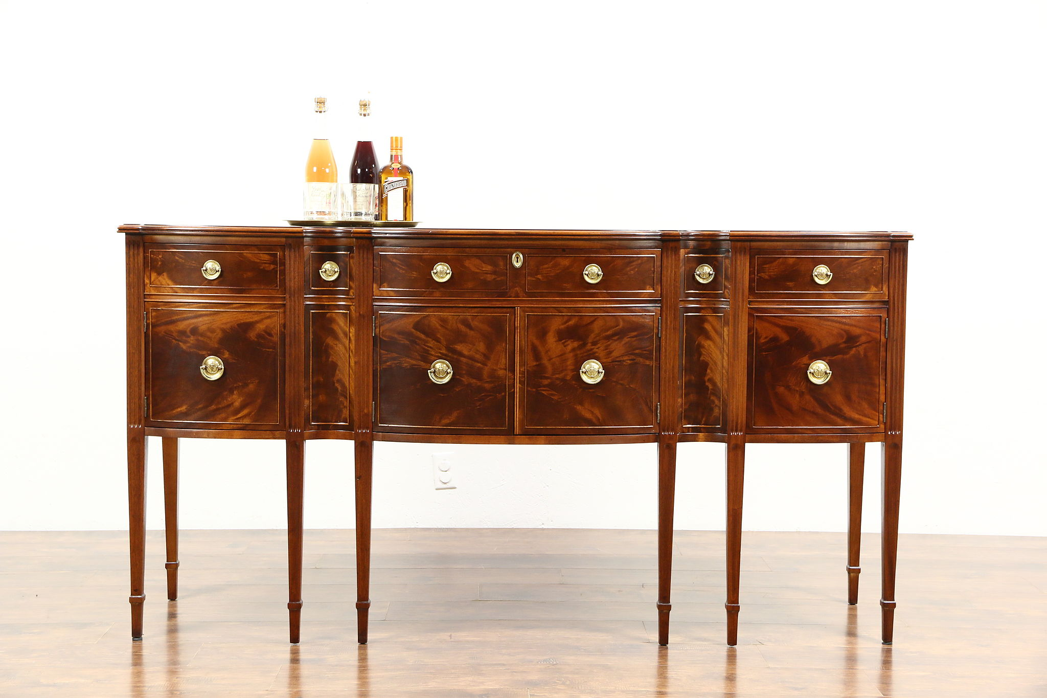 Sold Traditional Mahogany Sideboard Server Or Buffet