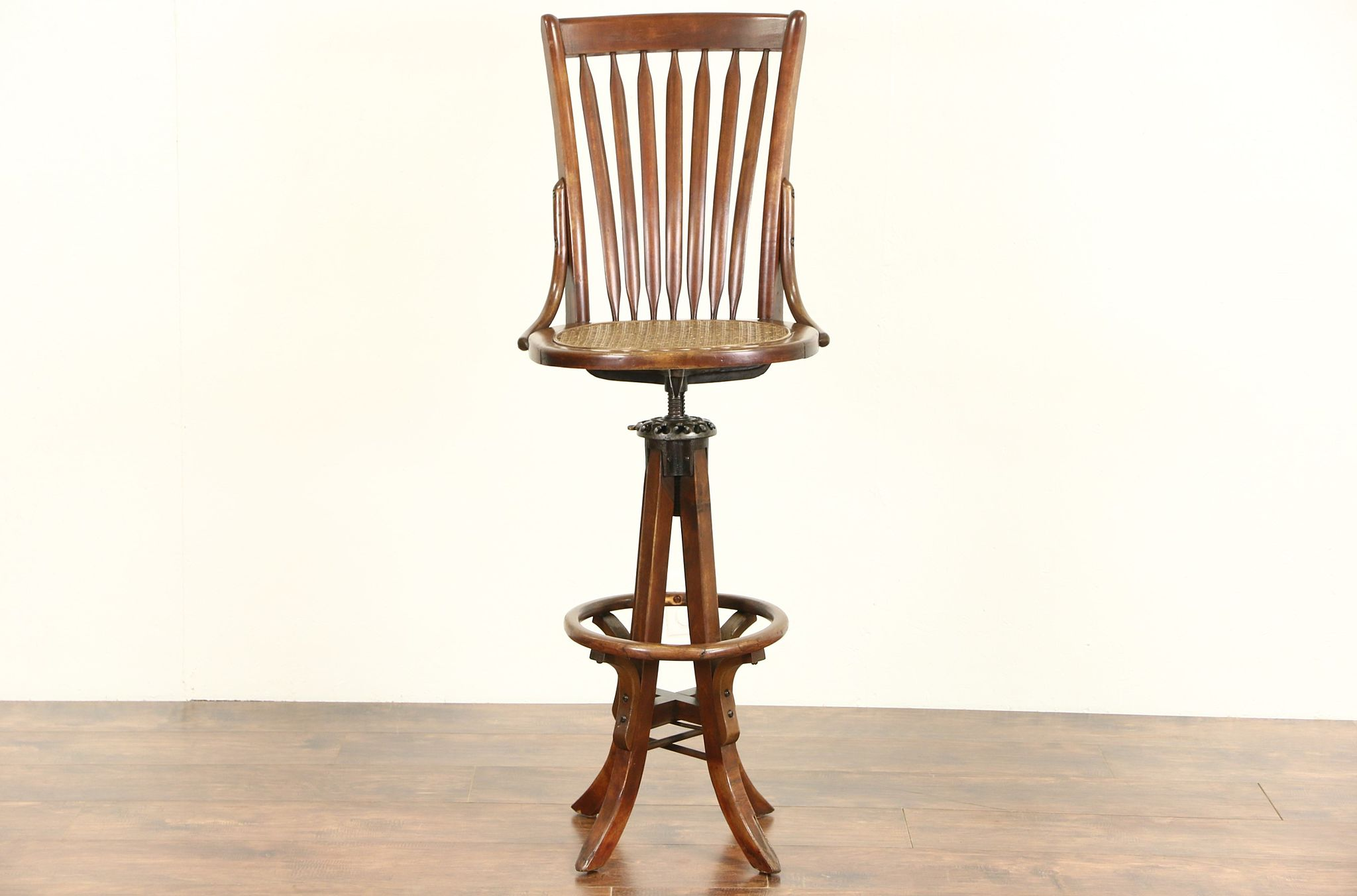 Terrific Drafting Architect Or Artist Antique Swivel Stool With Back Milwaukee Pat 1914 Caraccident5 Cool Chair Designs And Ideas Caraccident5Info