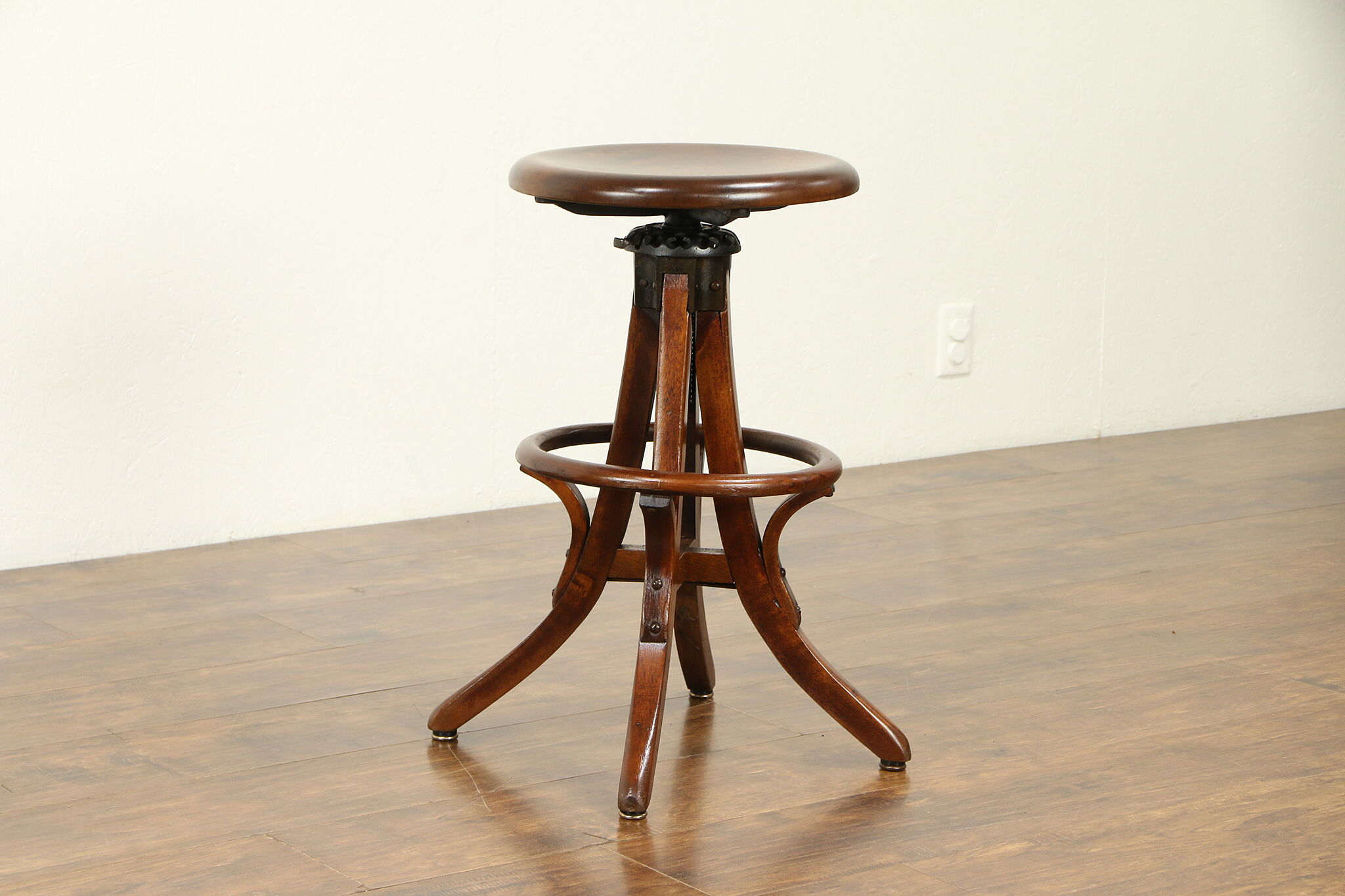 Sensational Architect Drafting Artist Swivel Stool Adjustable Milwaukee Pat 1914 31851 Caraccident5 Cool Chair Designs And Ideas Caraccident5Info