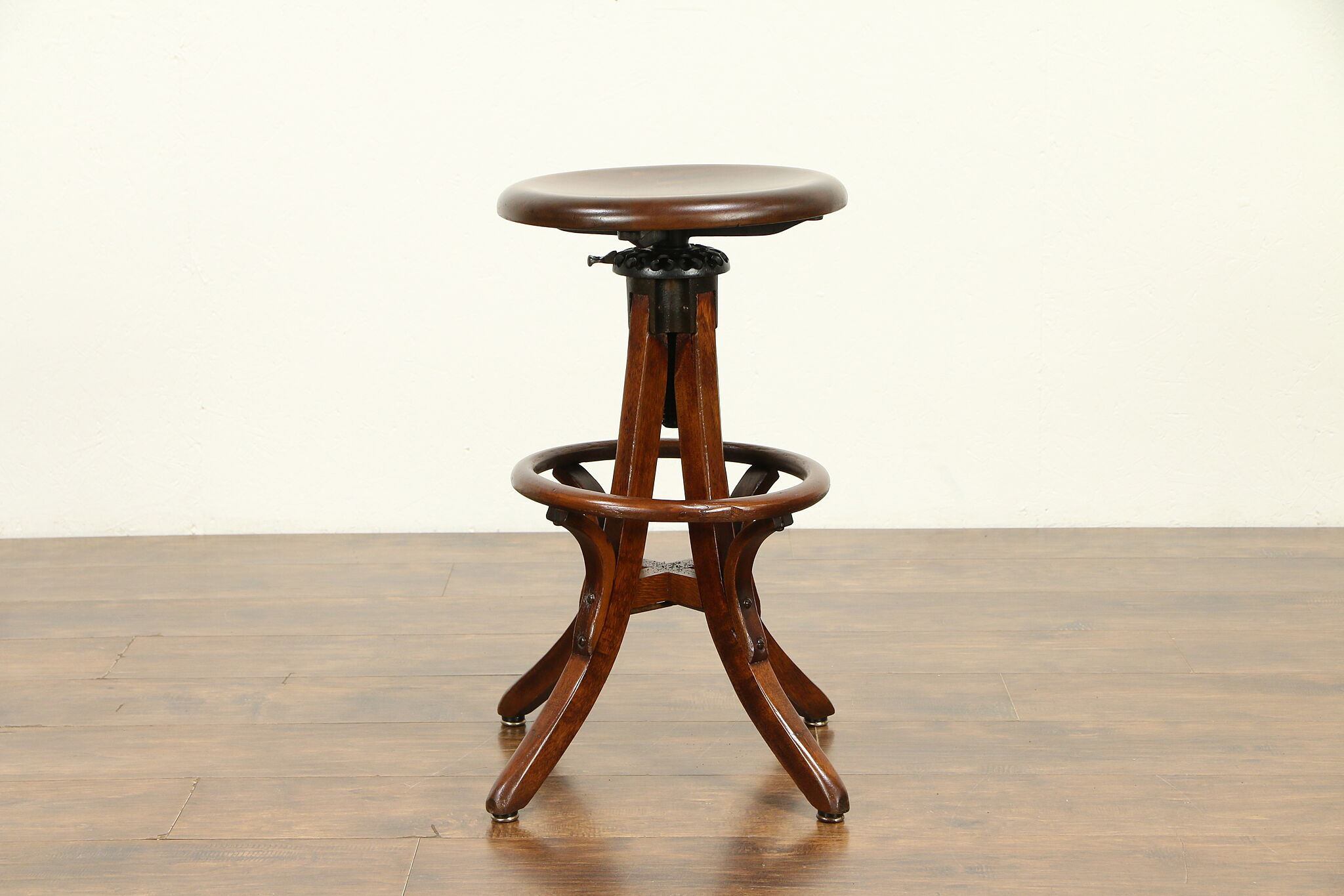 Outstanding Architect Drafting Artist Swivel Stool Adjustable Milwaukee Pat 1914 31851 Caraccident5 Cool Chair Designs And Ideas Caraccident5Info