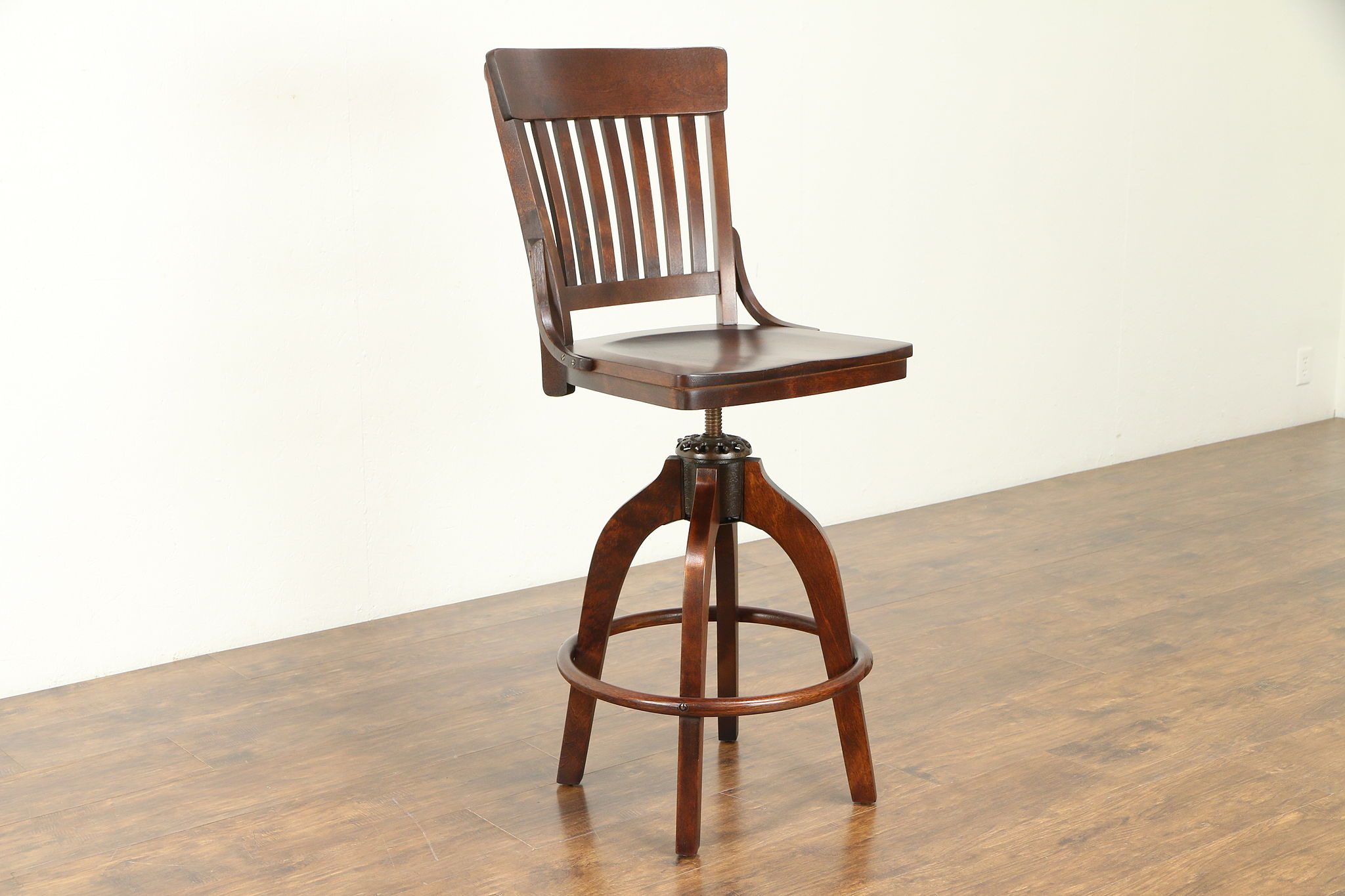 Excellent Milwaukee Antique Drafting Or Architect Swivel Adjustable Stool Pat 1914 30924 Caraccident5 Cool Chair Designs And Ideas Caraccident5Info