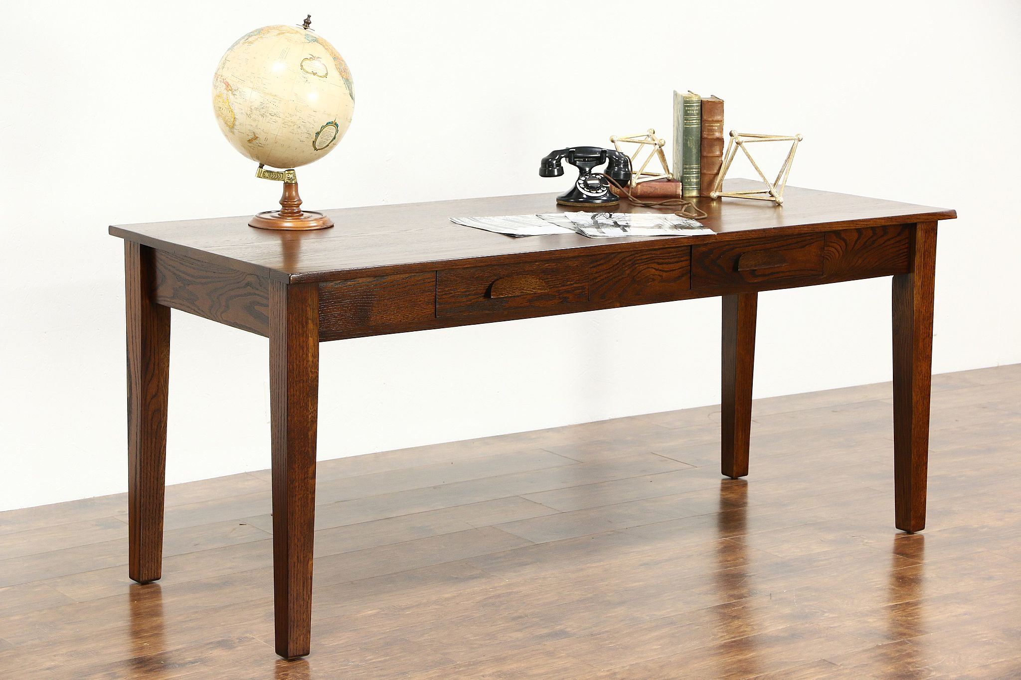 SOLD Arts & Crafts Mission Oak 1905 Antique Signed Craftsman