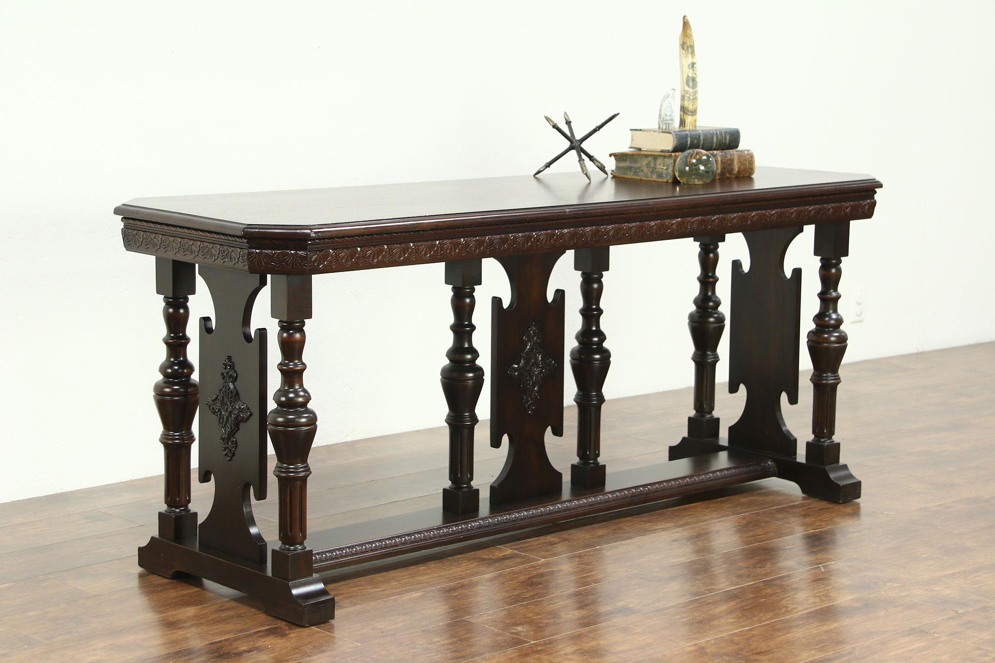 Sold Renaissance Style Mahogany 1920