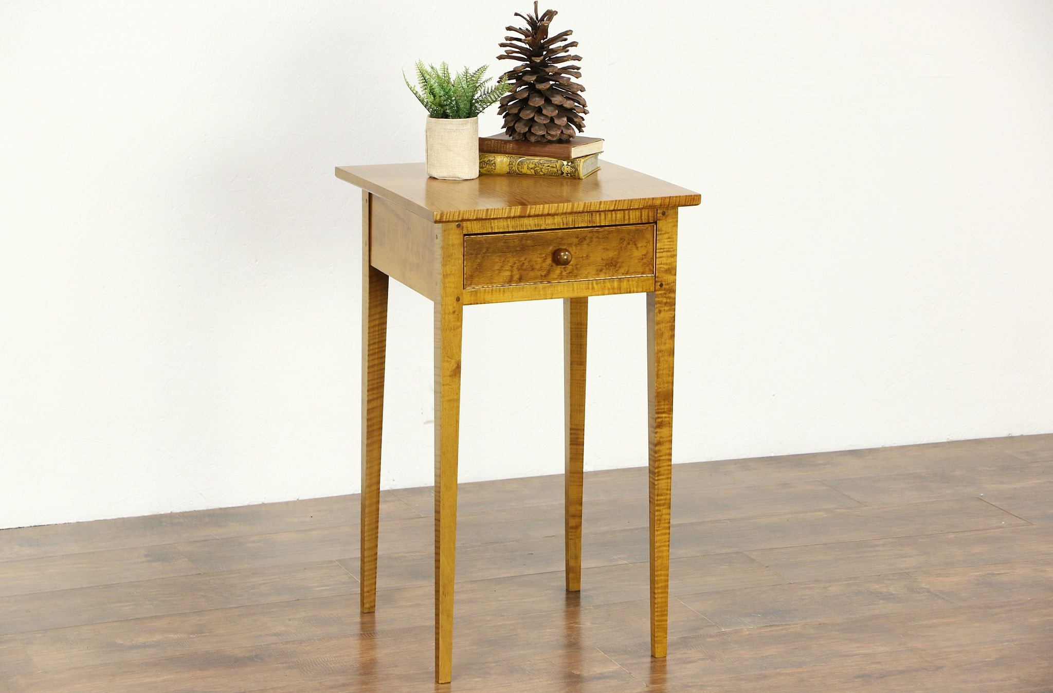 Solid Maple Vintage Night Stand End Table Nightstands Antiques