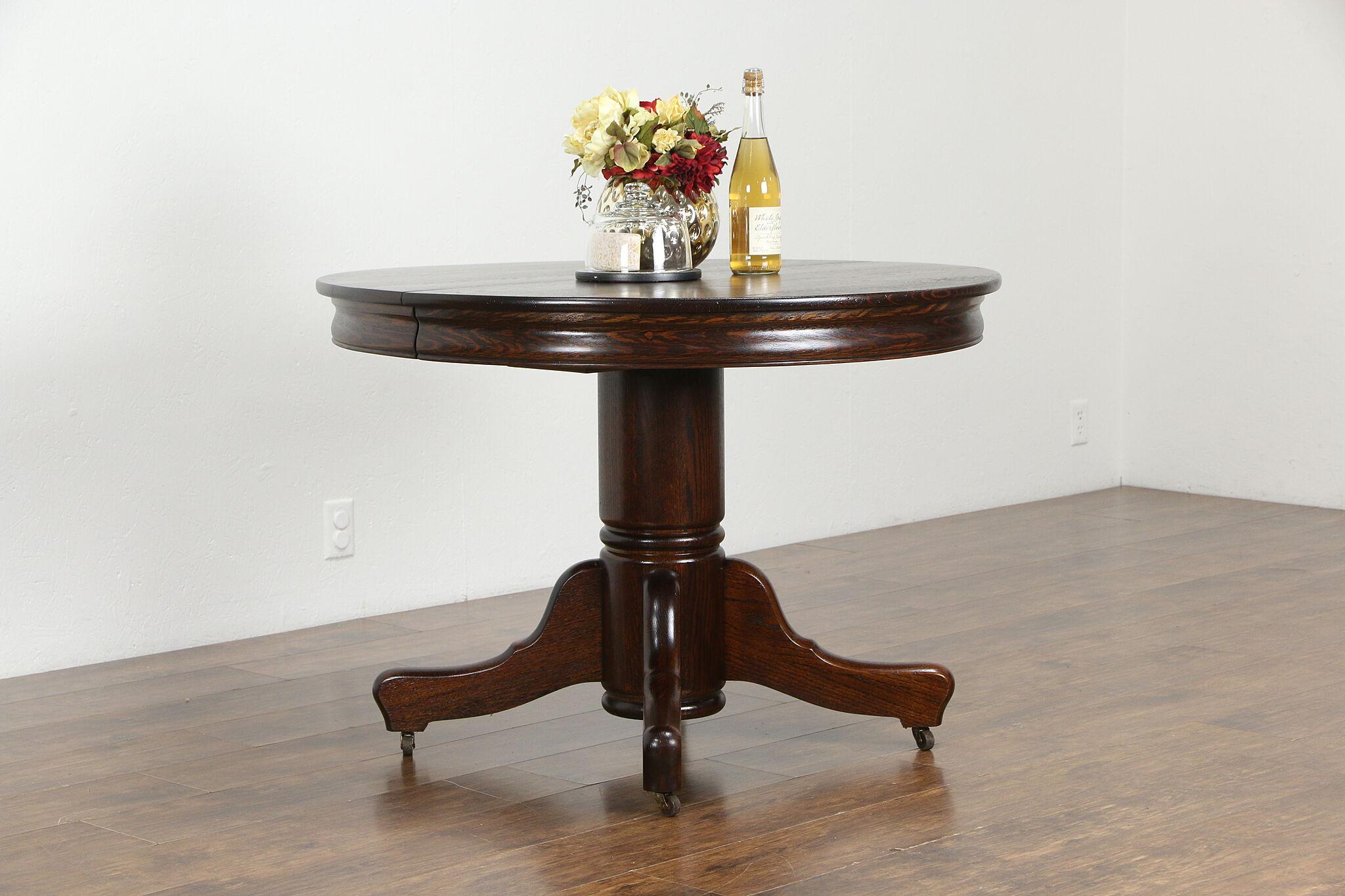 Victorian Antique Round Oak 9